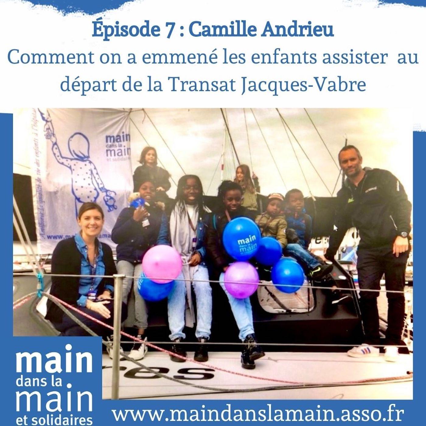 Episode 7-Camille Andrieu: Comment on a emmené les enfants assister au départ de la Transat Jacques-Vabre