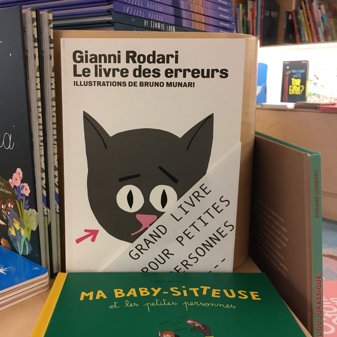 Grands livres pour petites personnes #14 - Le livre des erreurs