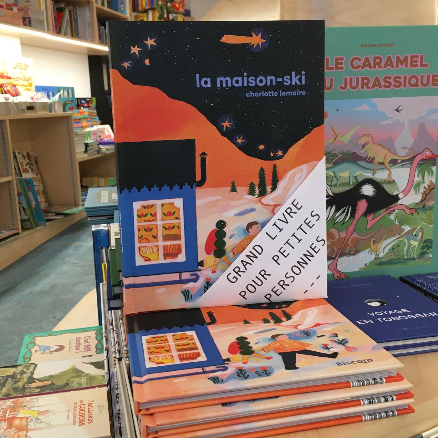 Grands livres pour petites personnes #17 - La Maison-ski