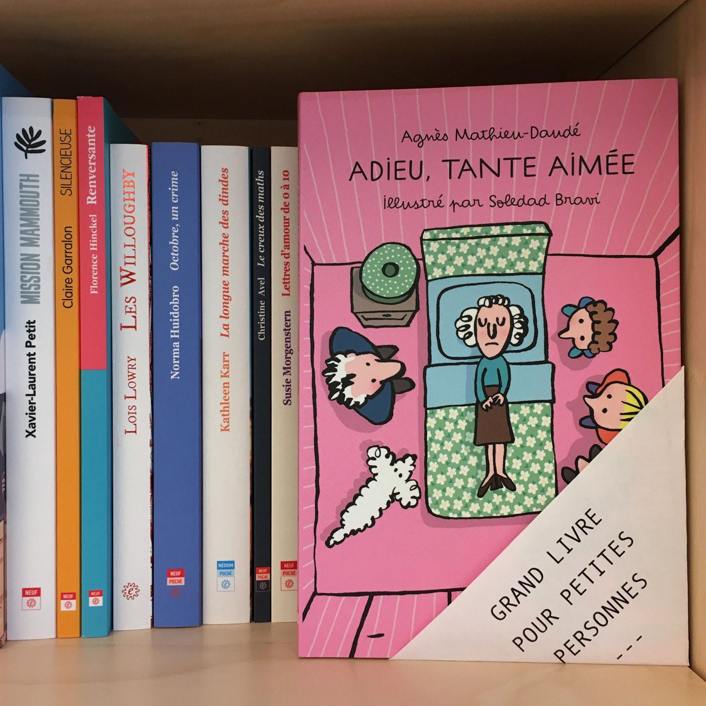 Grands livres pour petites personnes #19 - Adieu, tante Aimée