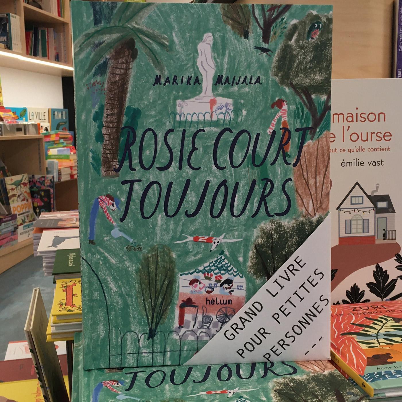 Grands livres pour petites personnes #23 - Rosie court toujours
