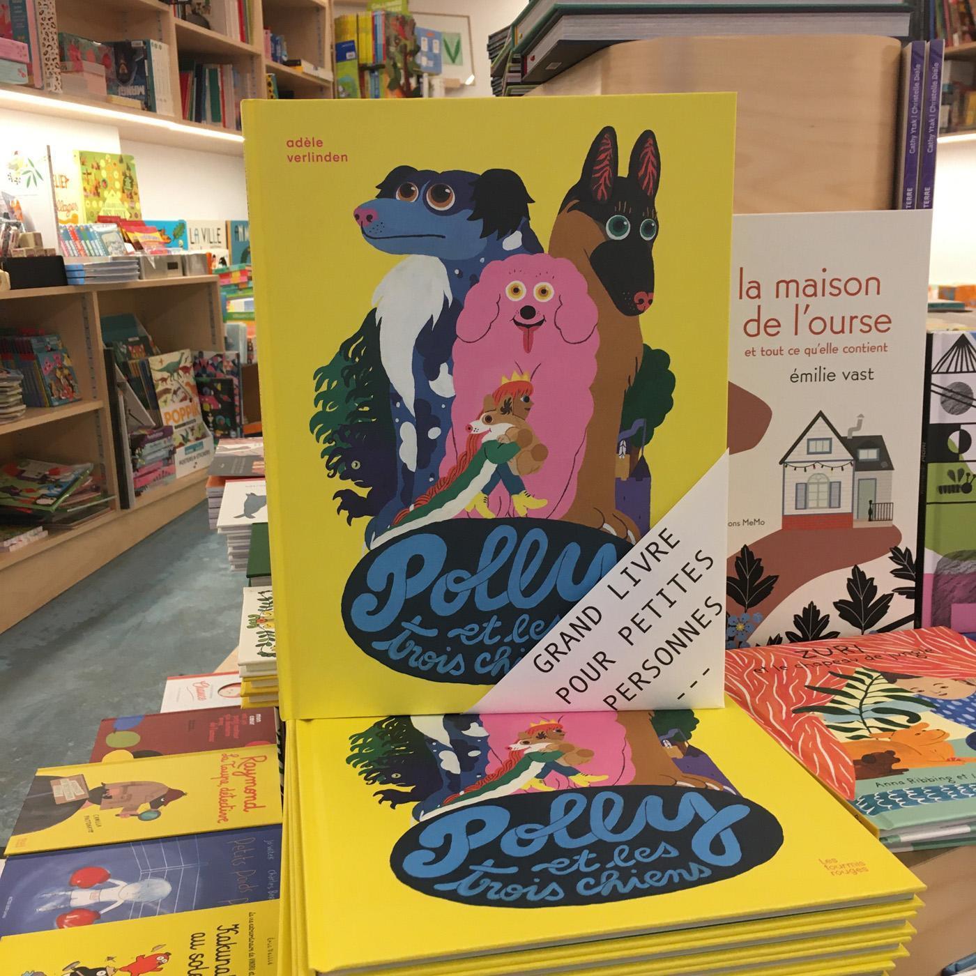 Grands livres pour petites personnes #25 - Polly et les trois chiens
