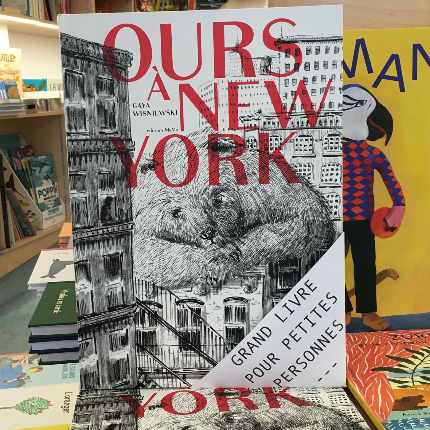 Grands livres pour petites personnes #27 - Ours à New York