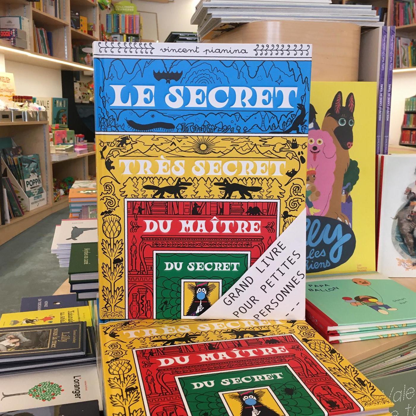 Grands livres pour petites personnes #29 - Le secret très secret du maître du secret