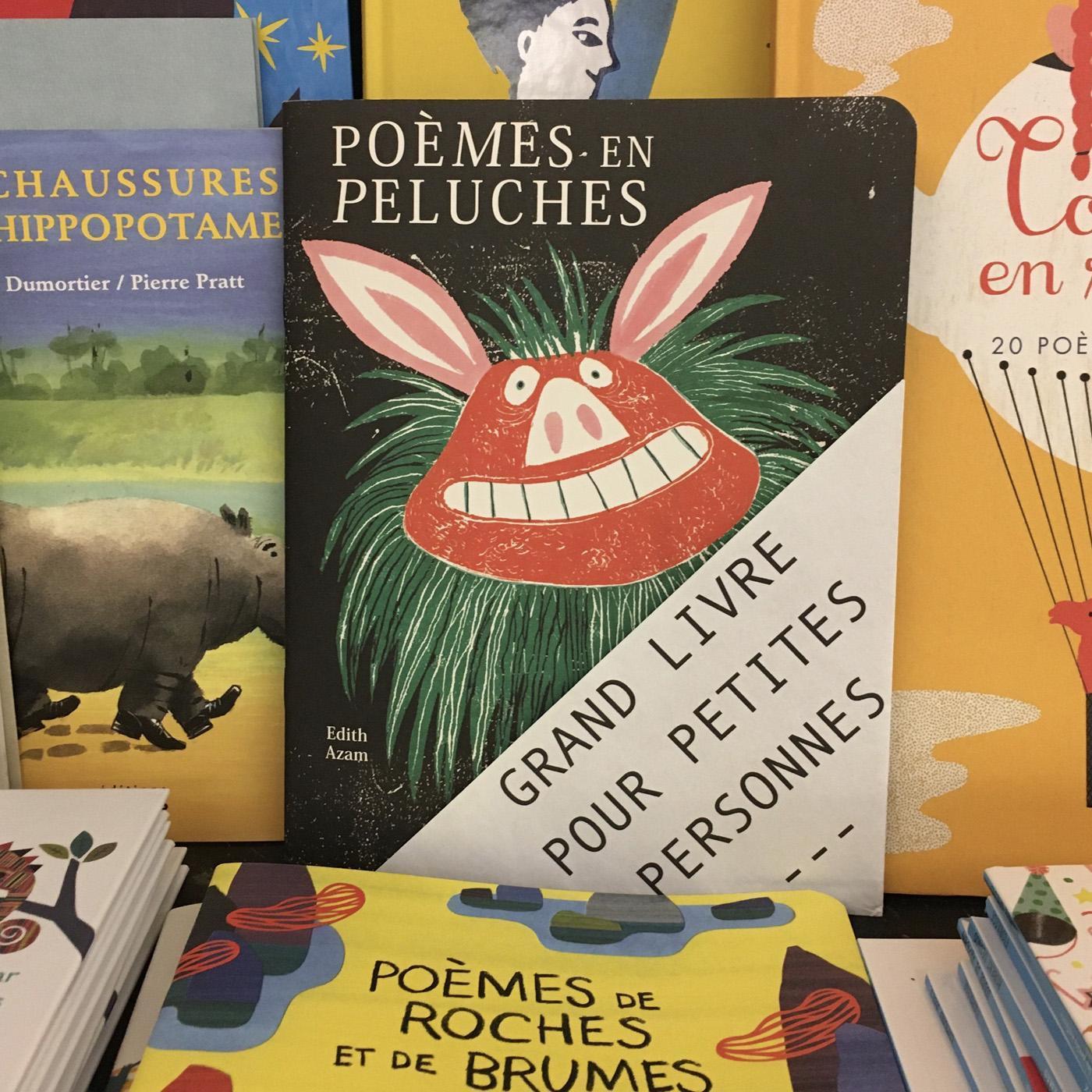Grands livres pour petites personnes #32 - Poèmes en peluches
