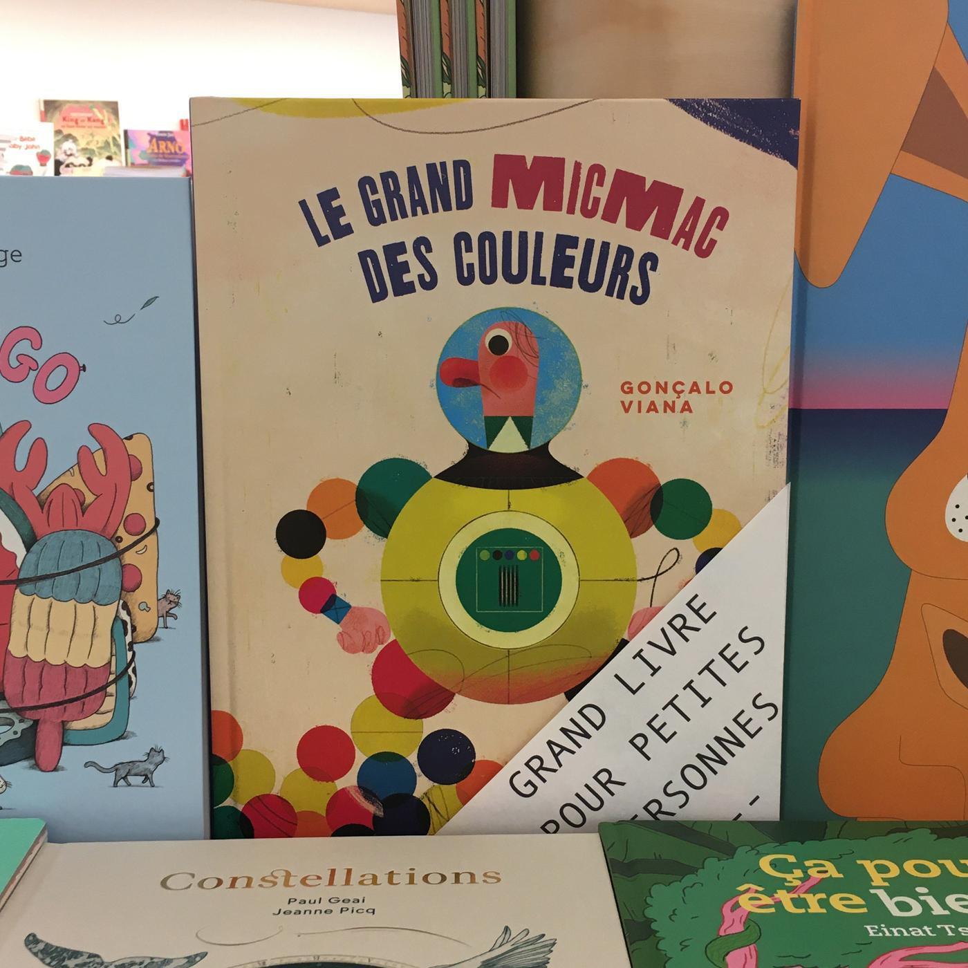 Grands livres pour petites personnes #34 - Le grand micmac des couleurs
