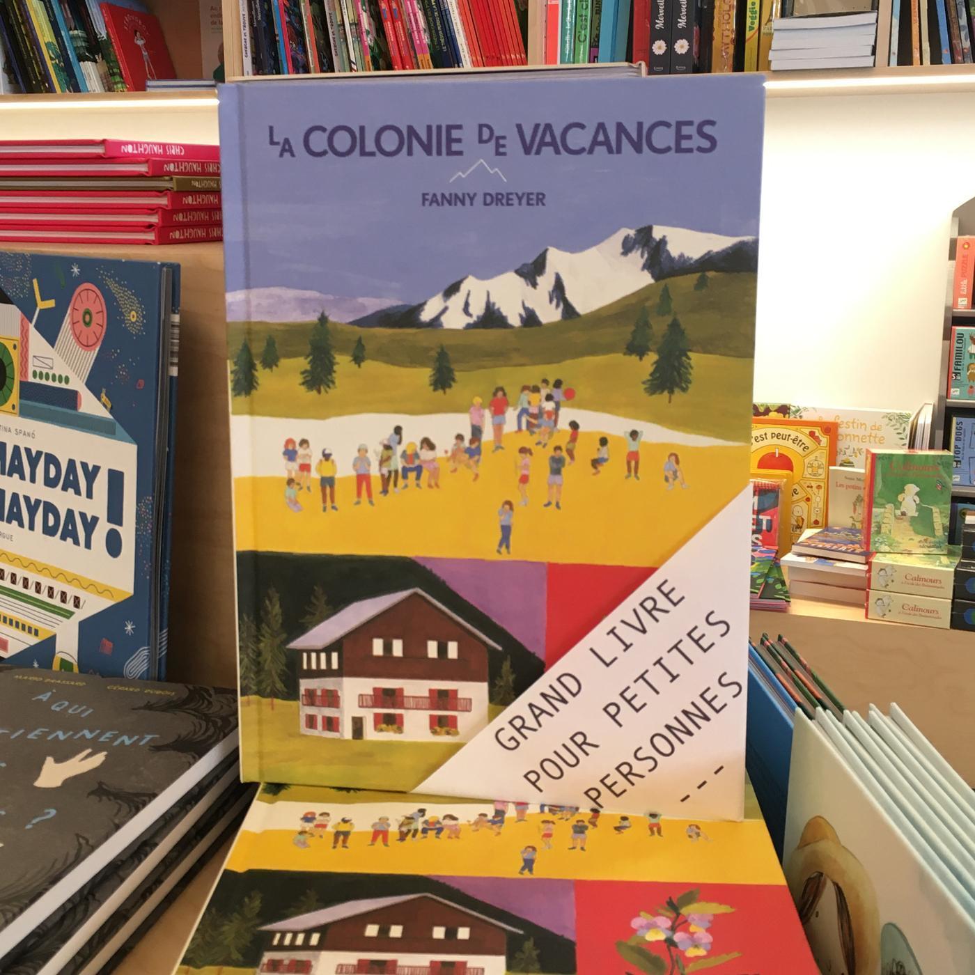 Grands livres pour petites personnes #36 - La colonie de vacances