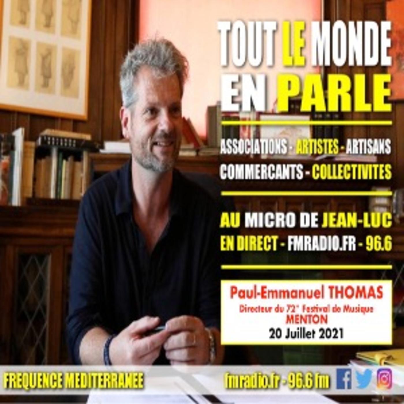 Interview - Paul-Emmanuel THOMAS