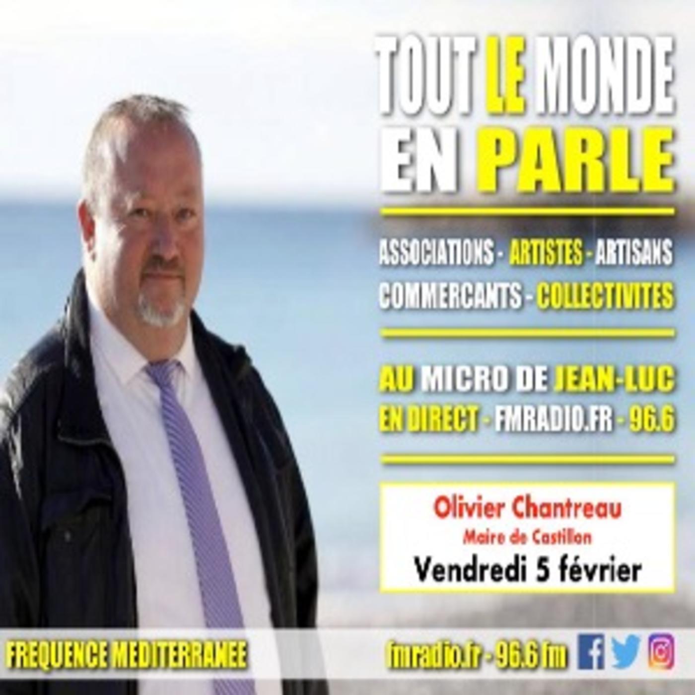 Invité - M. Olivier Chantreau ( Maire de Castillon )