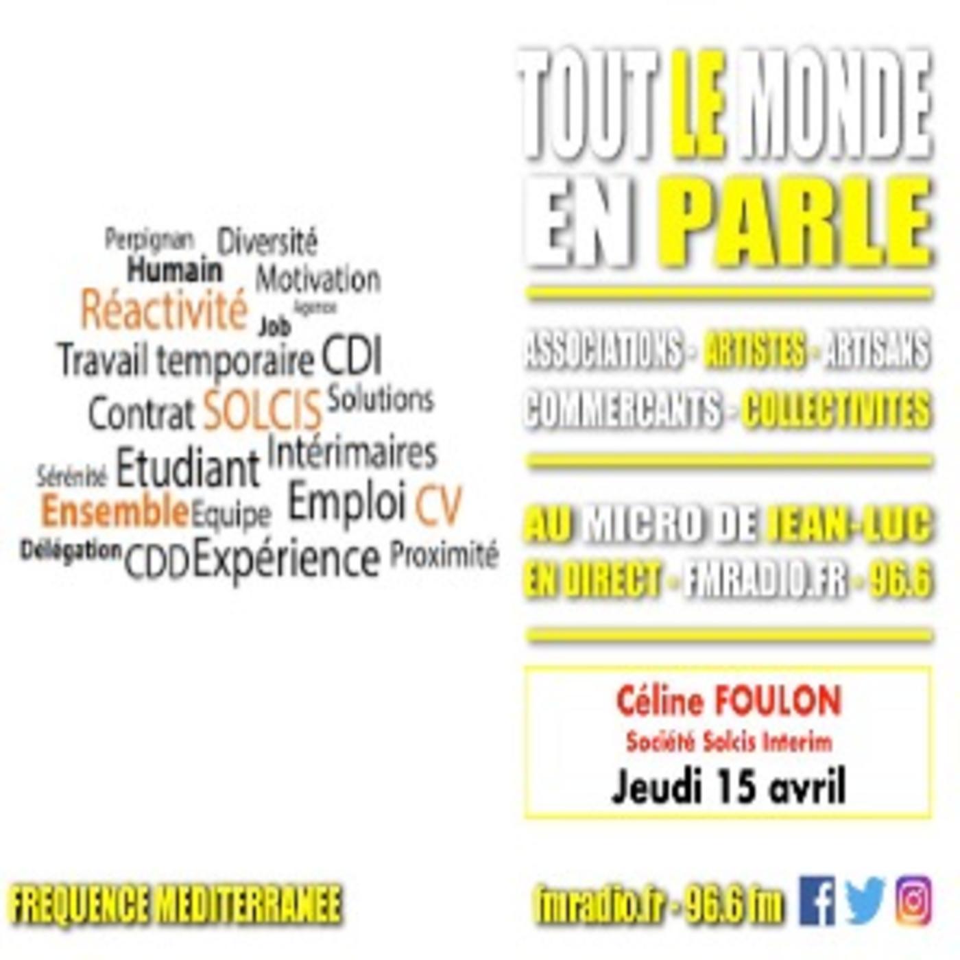 Invitée - Céline Foulon ( Agence Solcis Intérim )