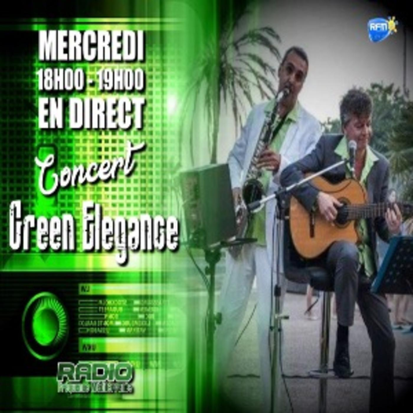 """Let the music play - Showcase """" Green Elegance """""""