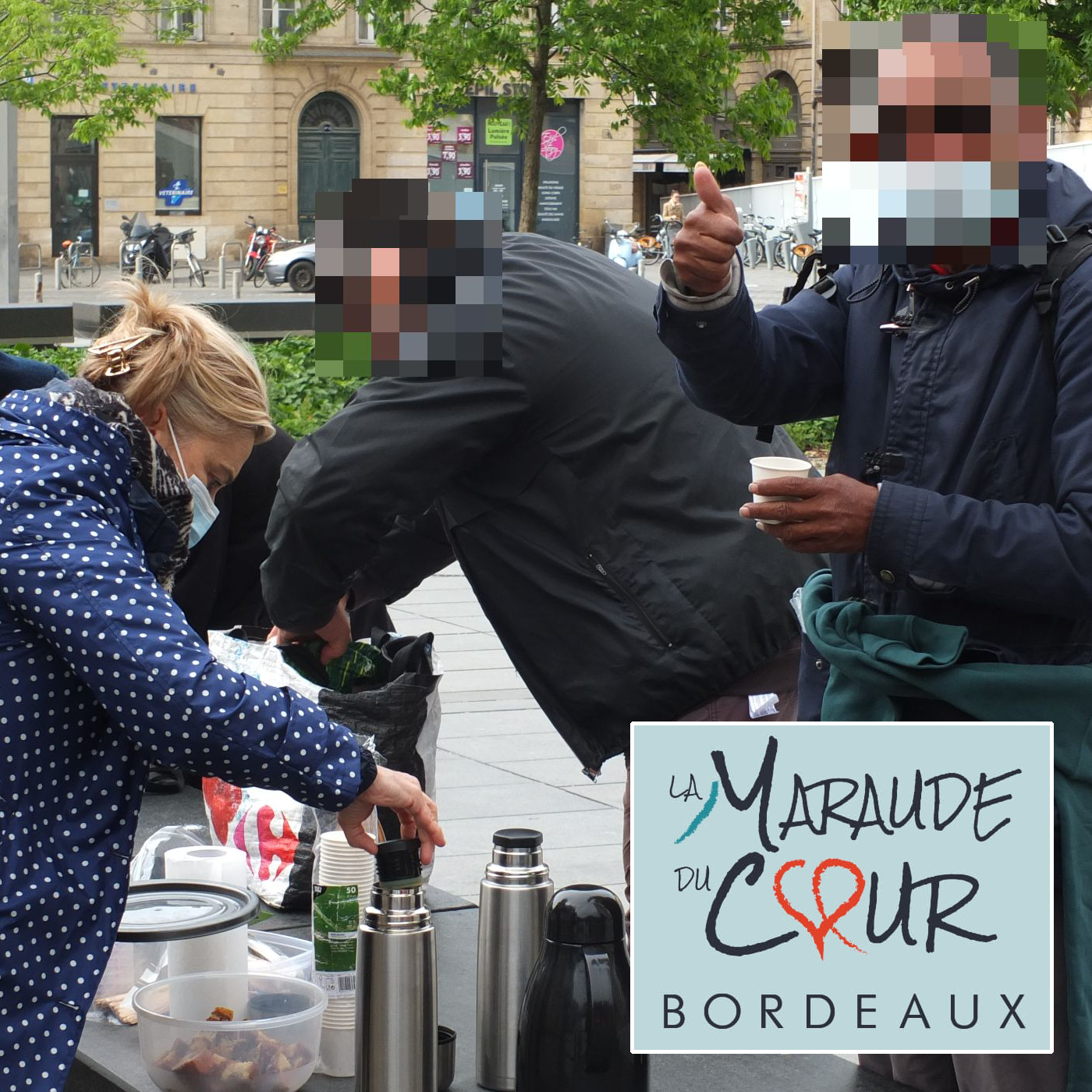 Carte postale radio [2021] :  La Maraude du Cœur Bordeaux