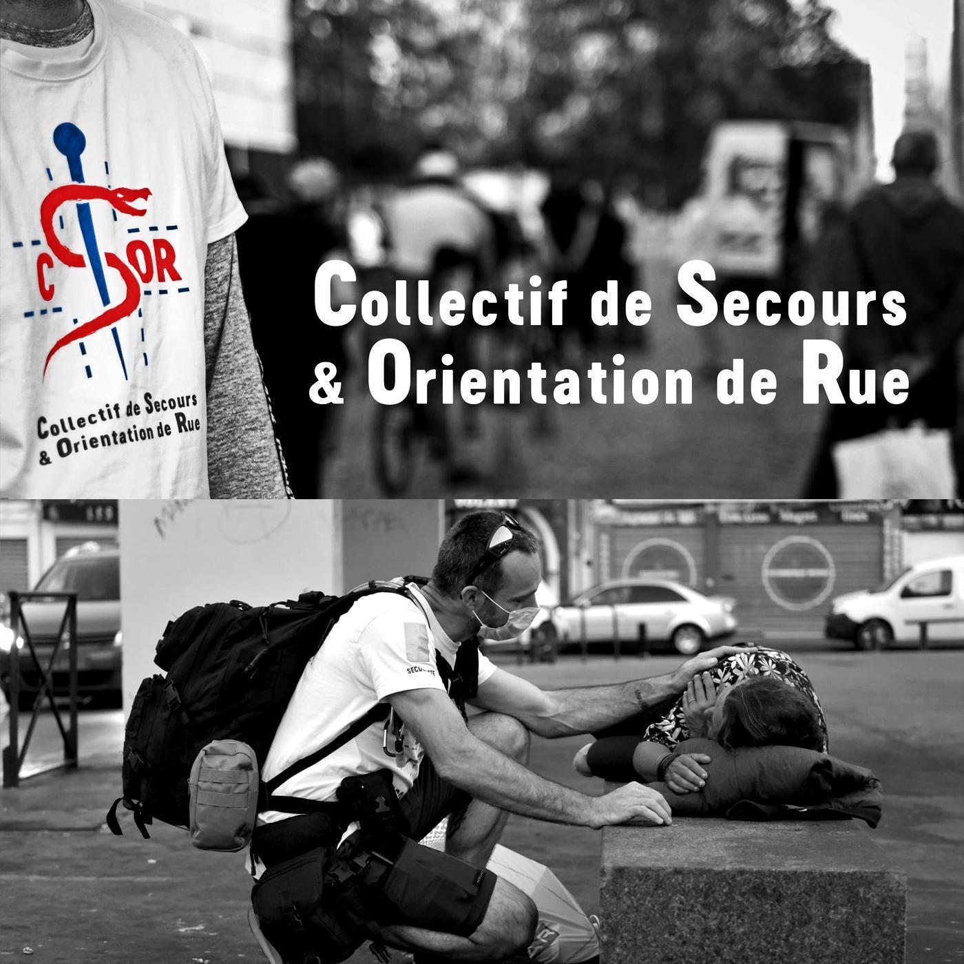 Carte postale radio [2021] : Le Collectif de Secours et Orientation de Rue