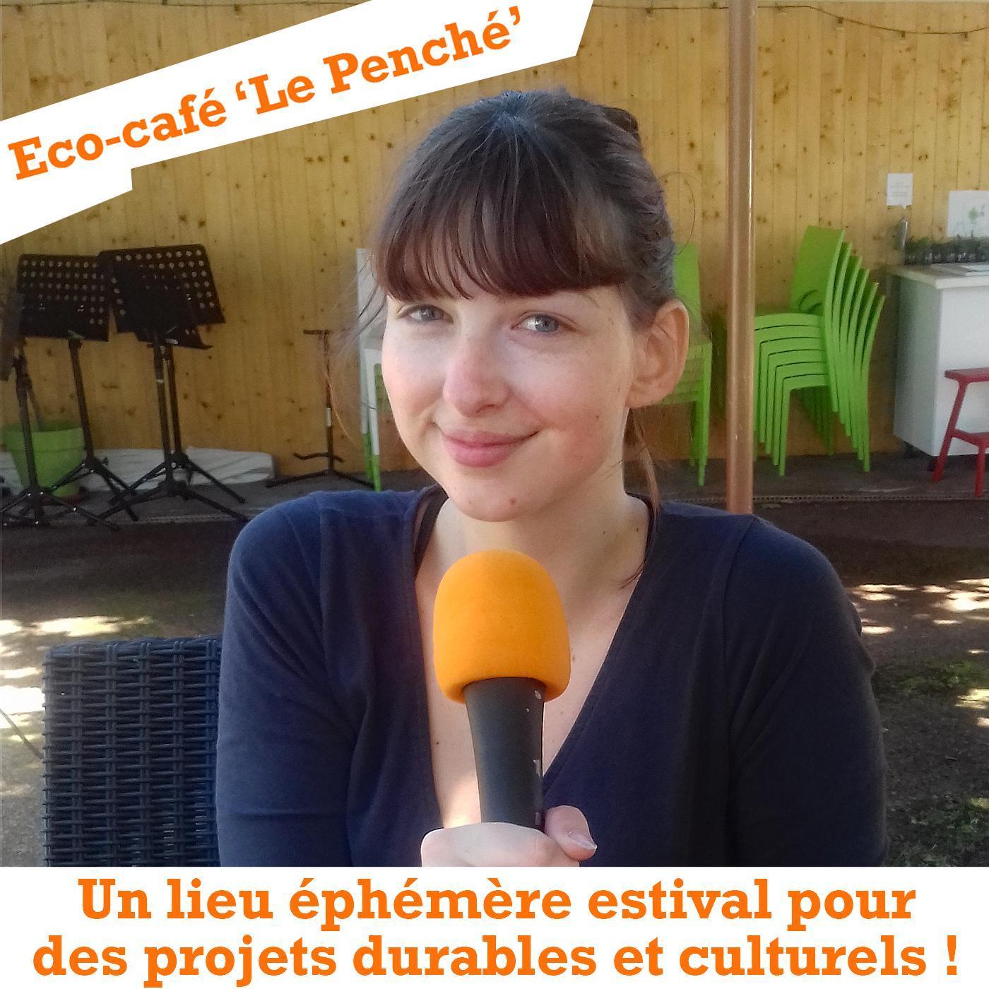 """Carte postale radio [2021] : L'éco-café """"Le Penché"""" au Bouscat"""