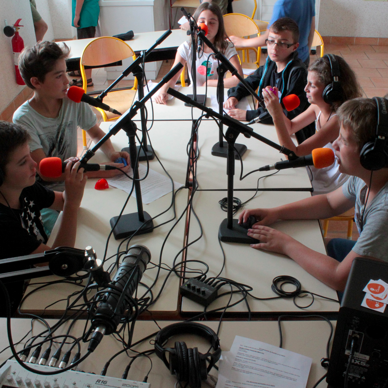 Stage radio jeunesse [2016] : Les jeunes journalistes de Roaillan