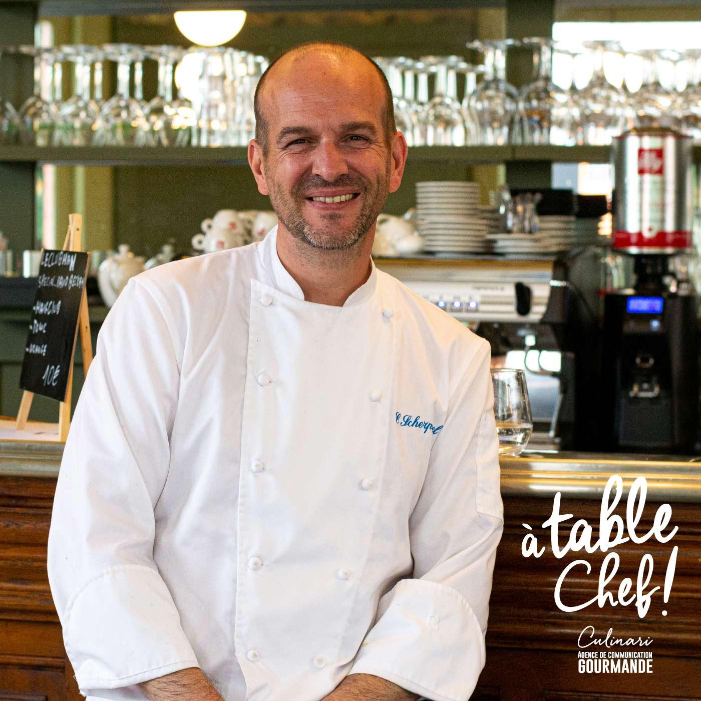 Chef Christophe Scherpereel