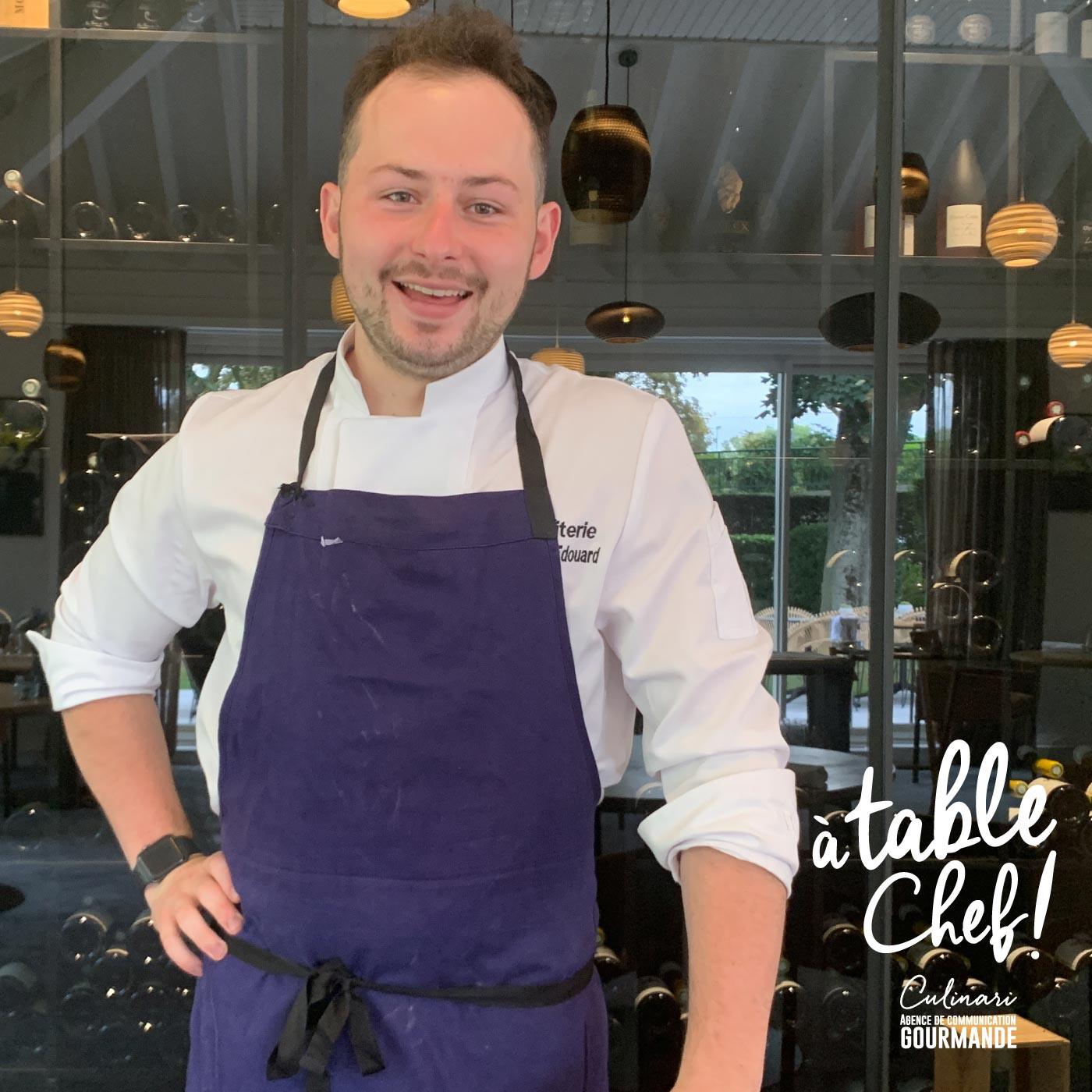 Chef Edouard Chouteau