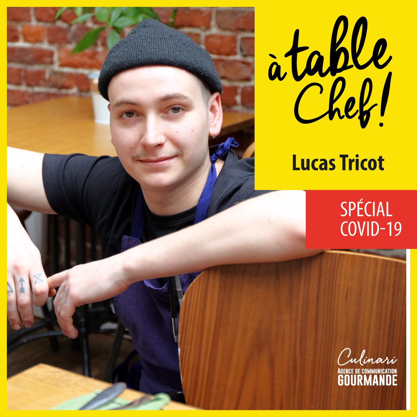 Chef  Lucas Tricot