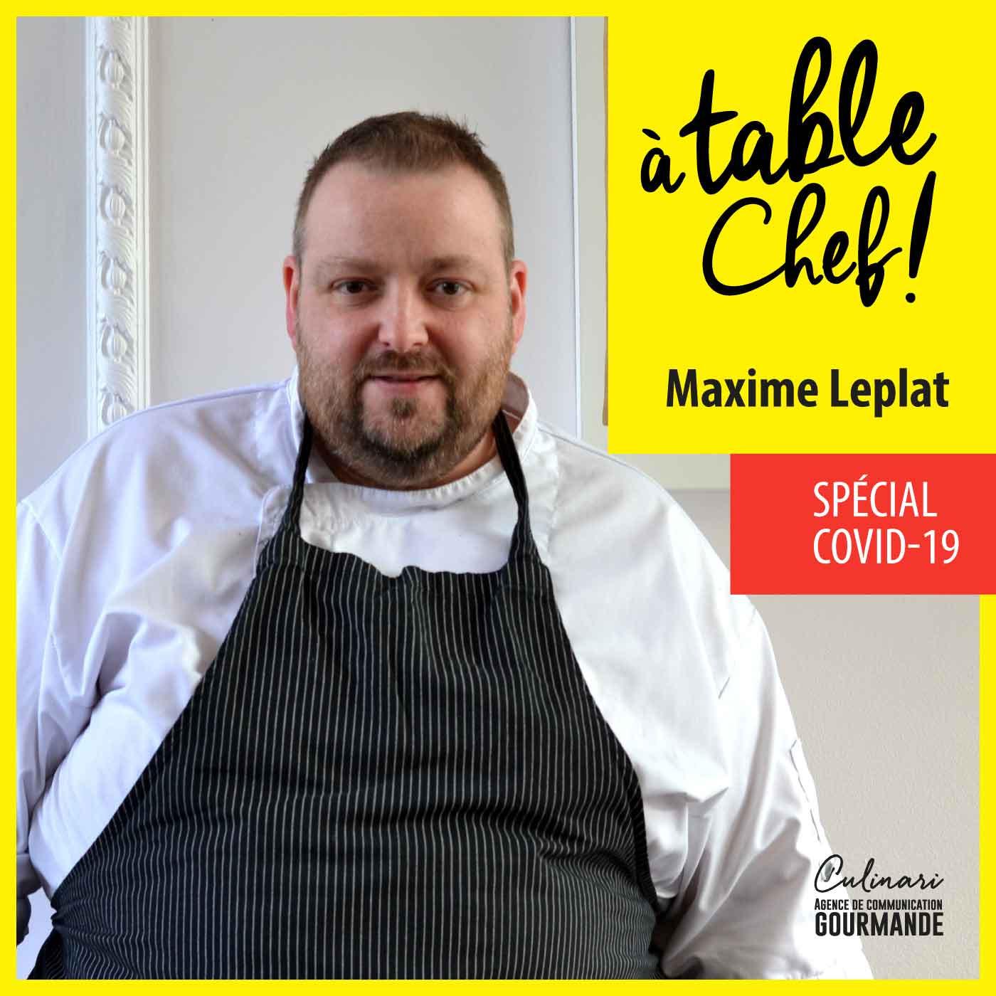 Chef Maxime Leplat