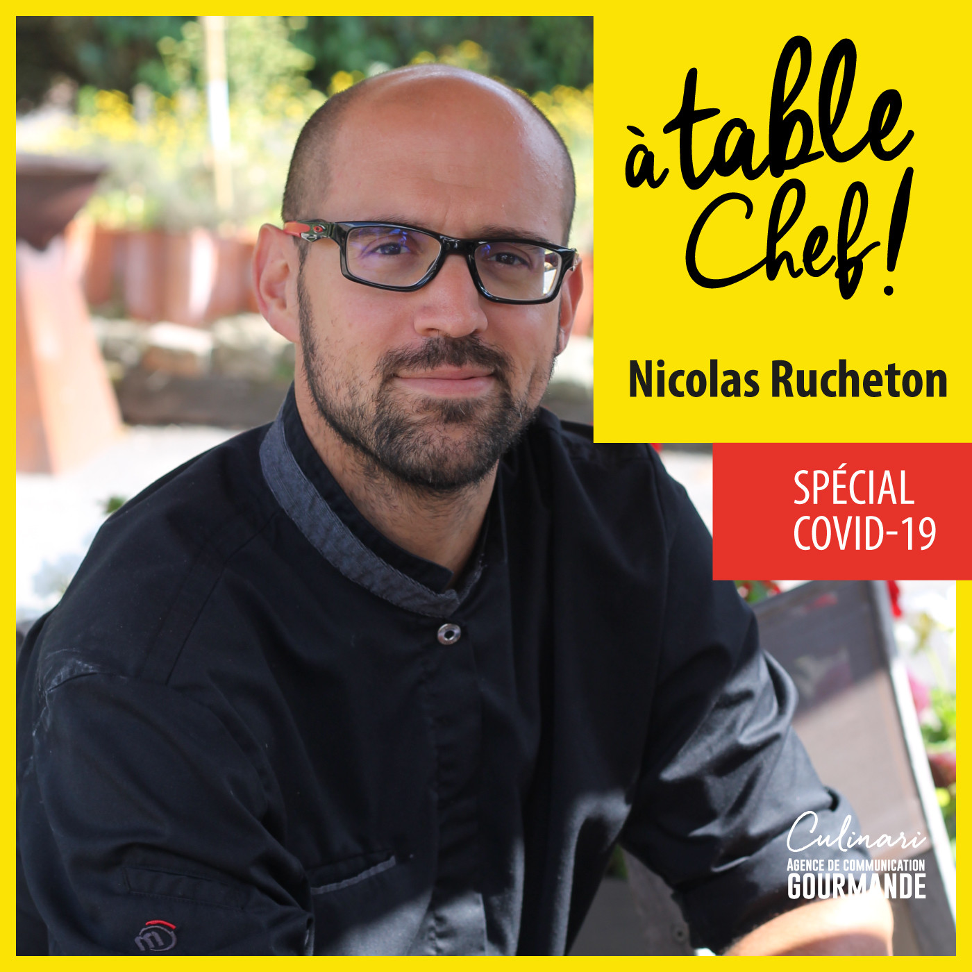 Chef Nicolas Rucheton