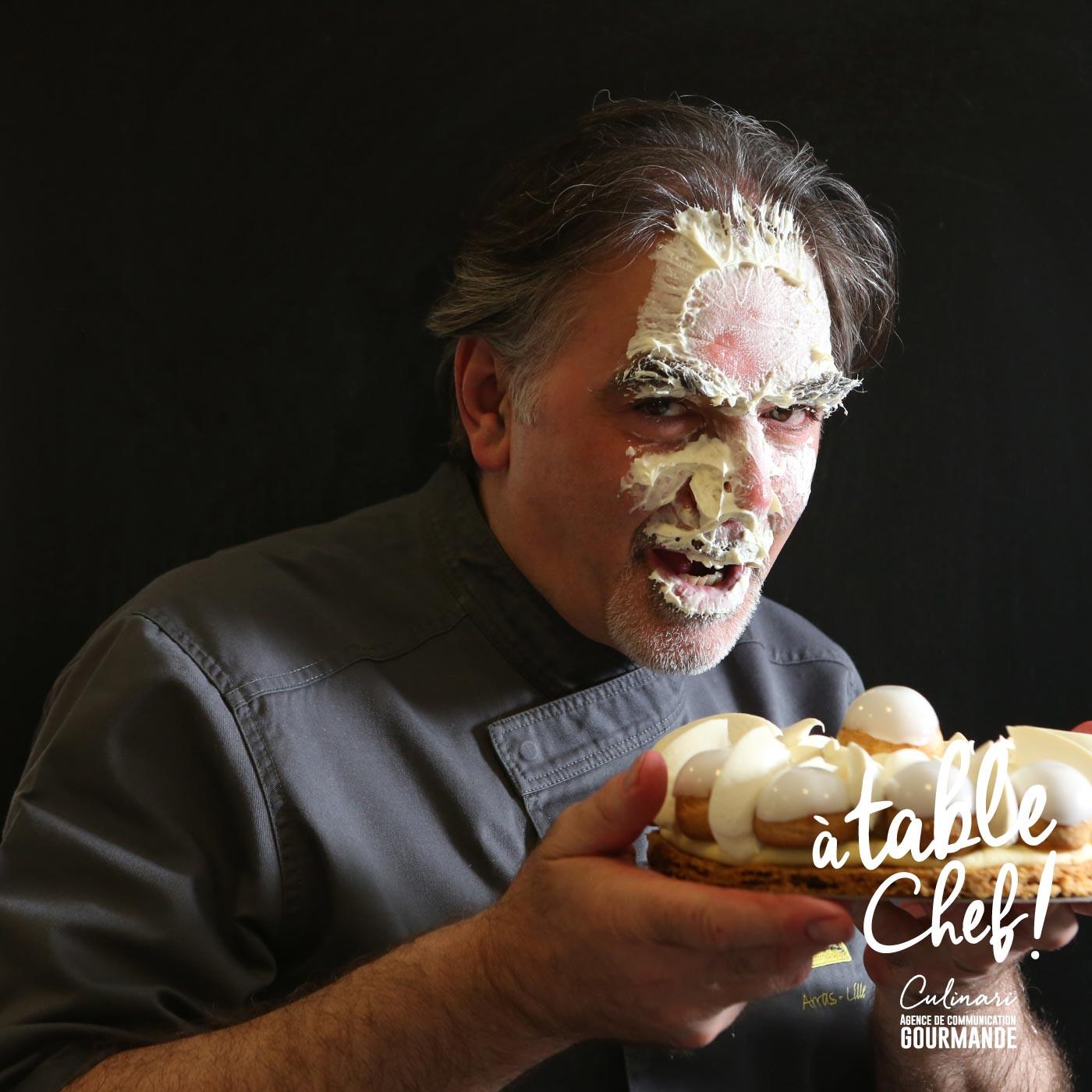 Chef pâtissier Patrick Hermand