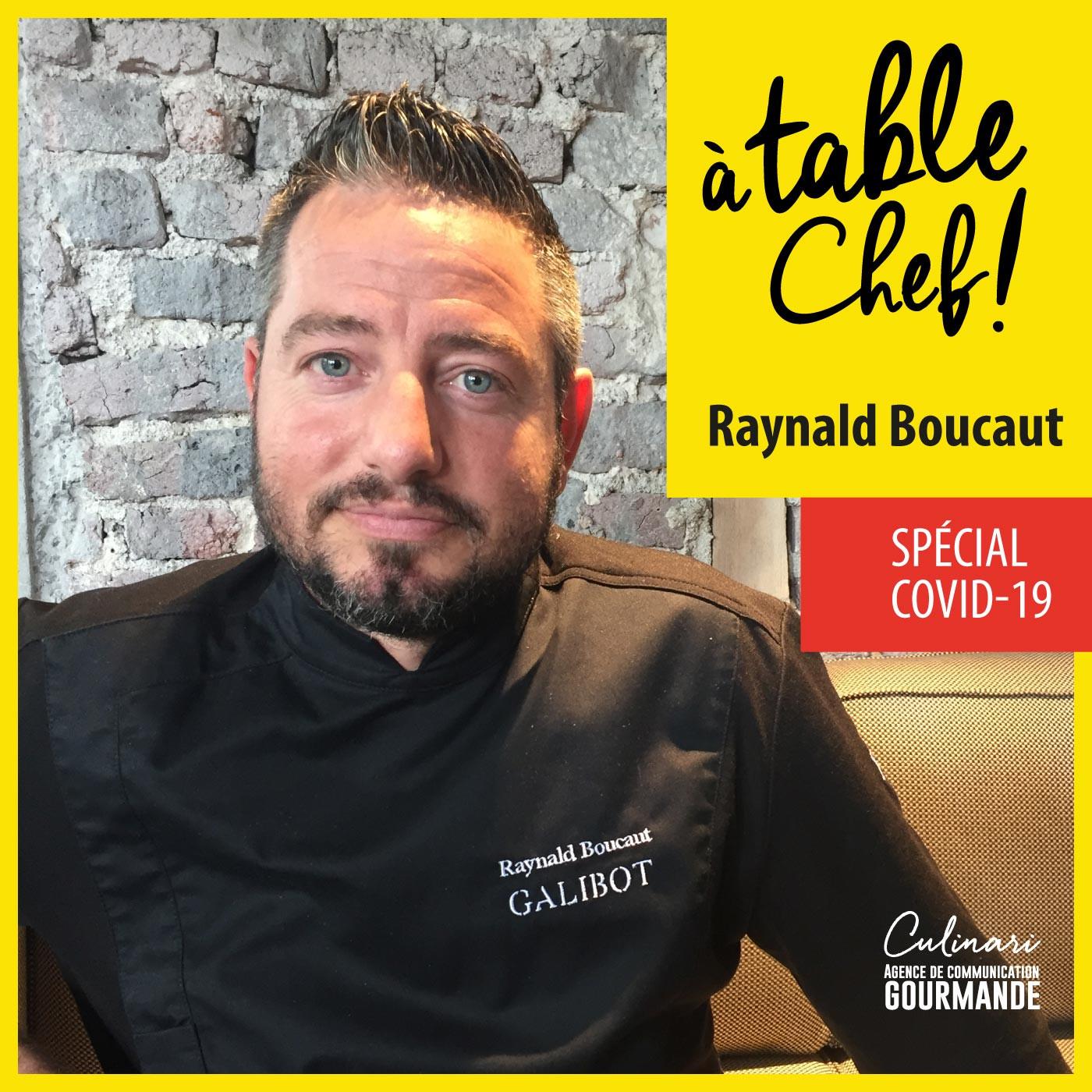 Chef Raynald Boucaut