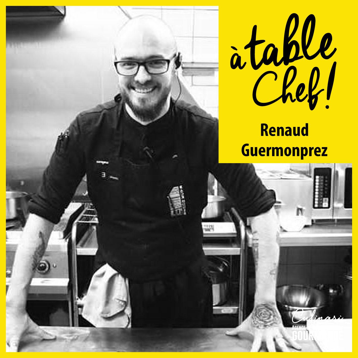 Chef  Renaud Guermonprez