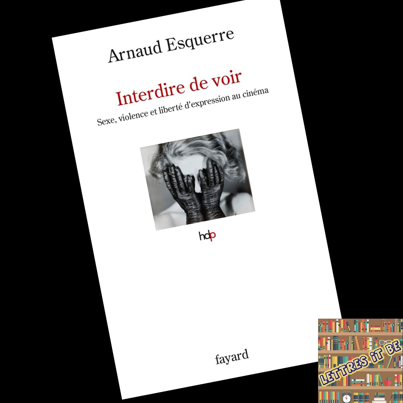 Critique d'Interdire de voir : sexe, violence et liberté d'expression d'Arnaud Esquerre (Livre)