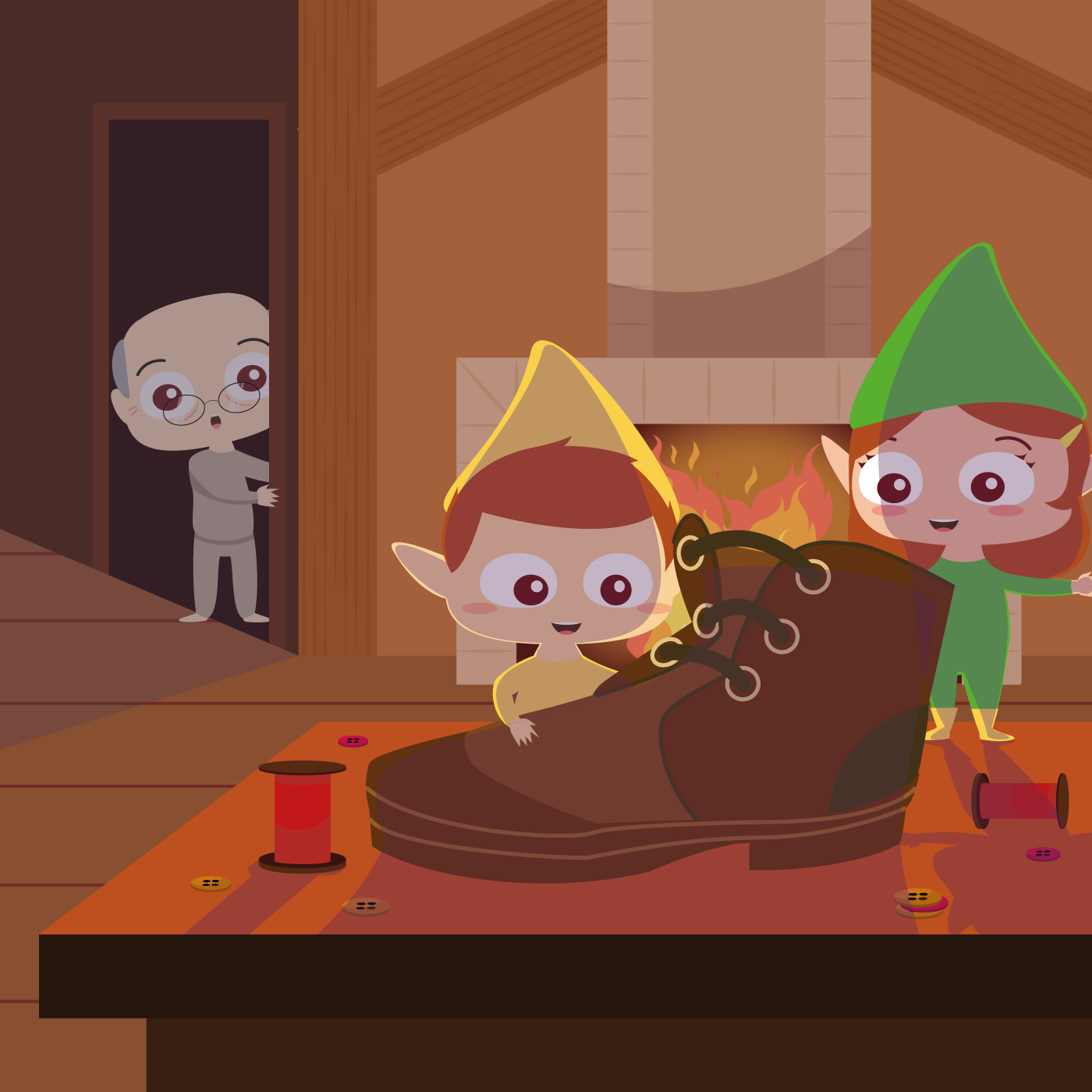 The Elves and The Shoemaker 👞