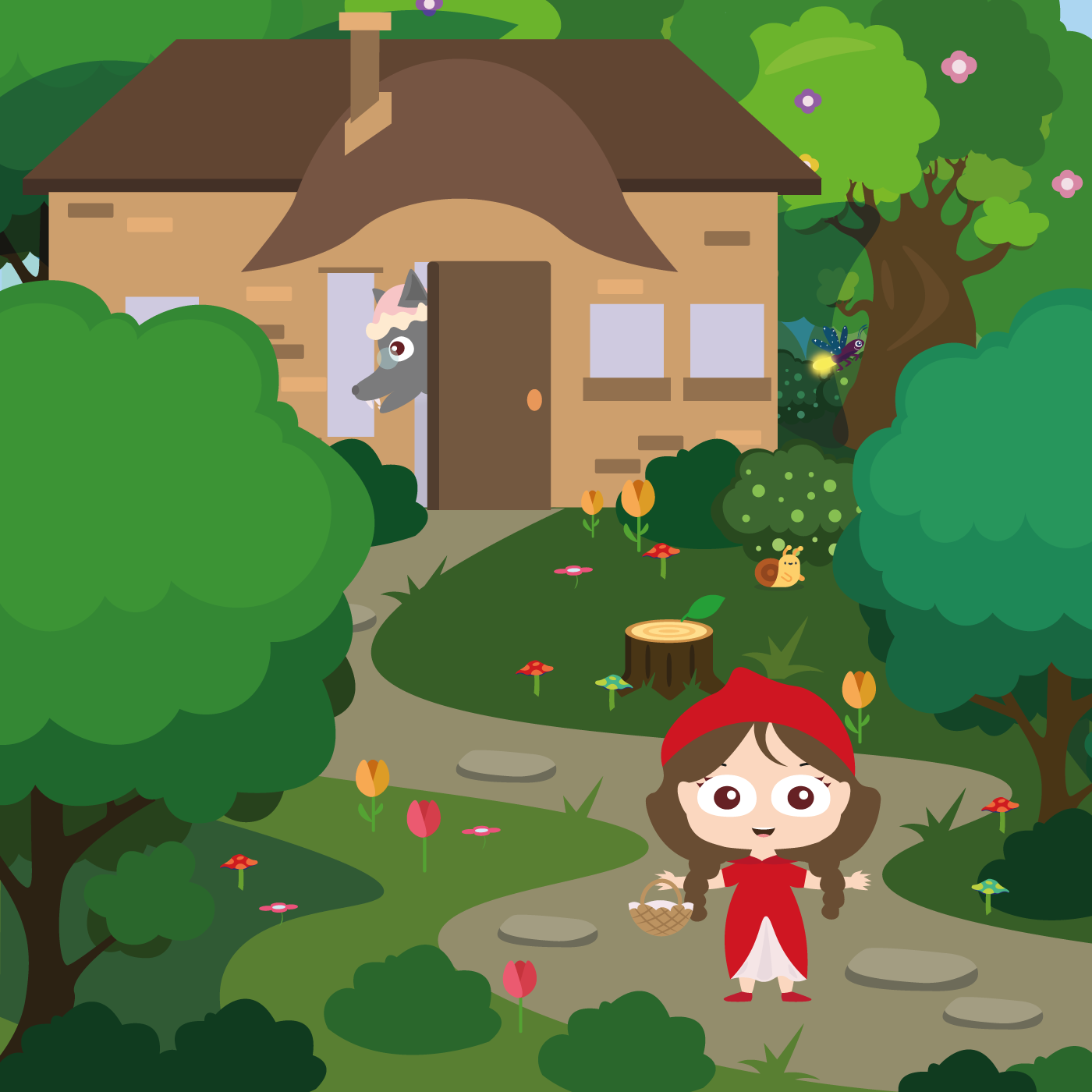 Little Red Riding Hood 👧