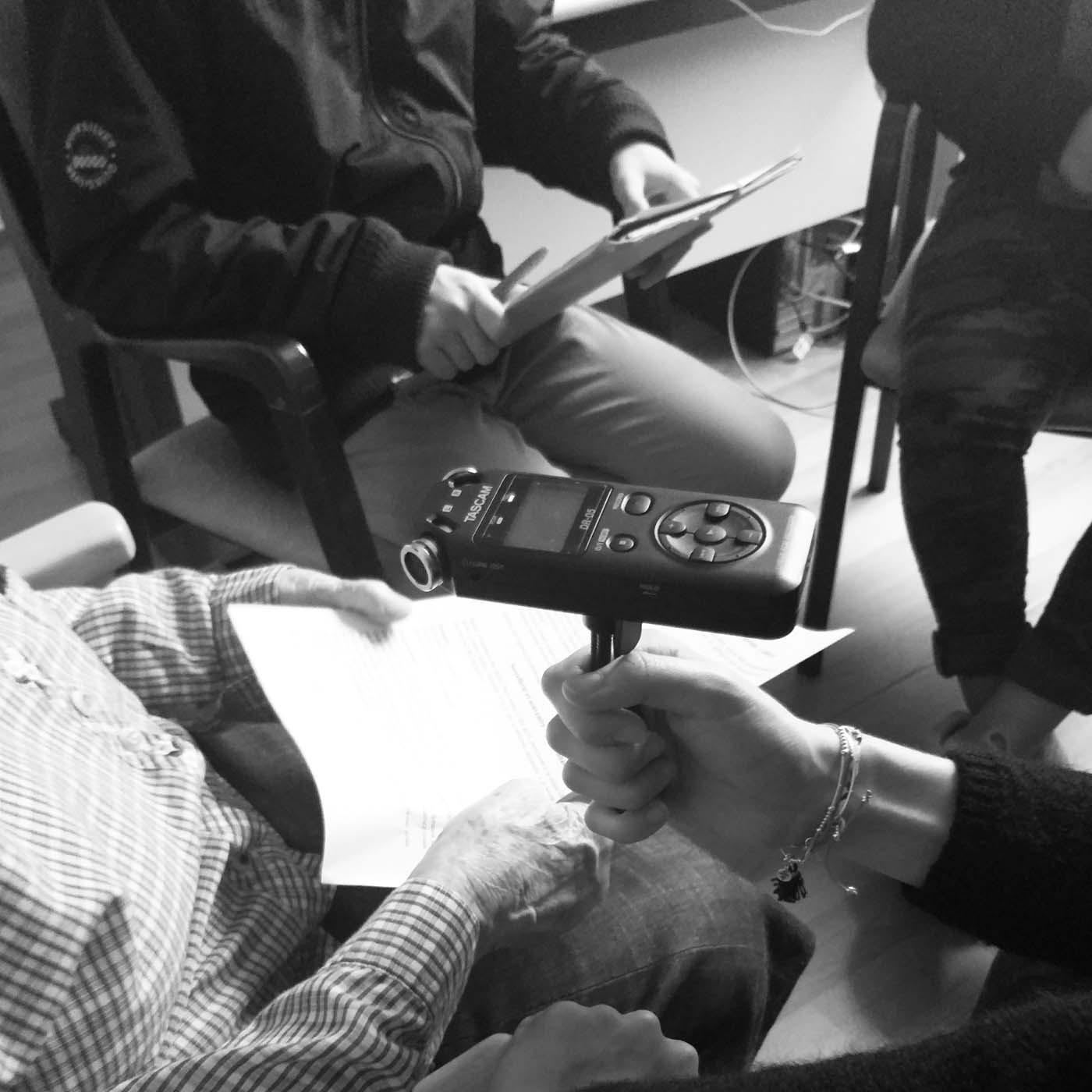 Mémoire et croyance : écriture d'un spectacle au collège Errobi de Cambo-les-Bains