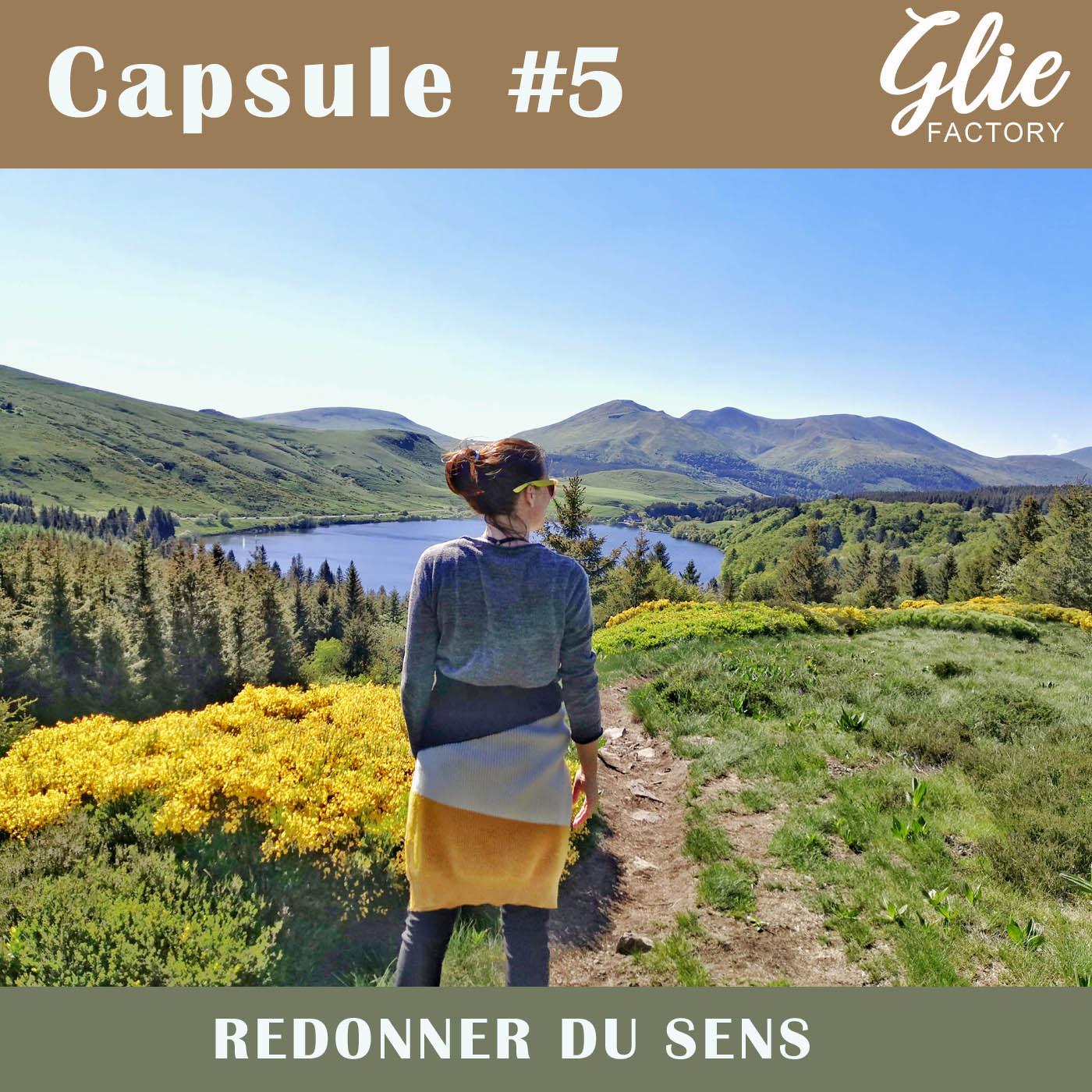 CAPSULE #5. Comment redonner un sens à sa vie?