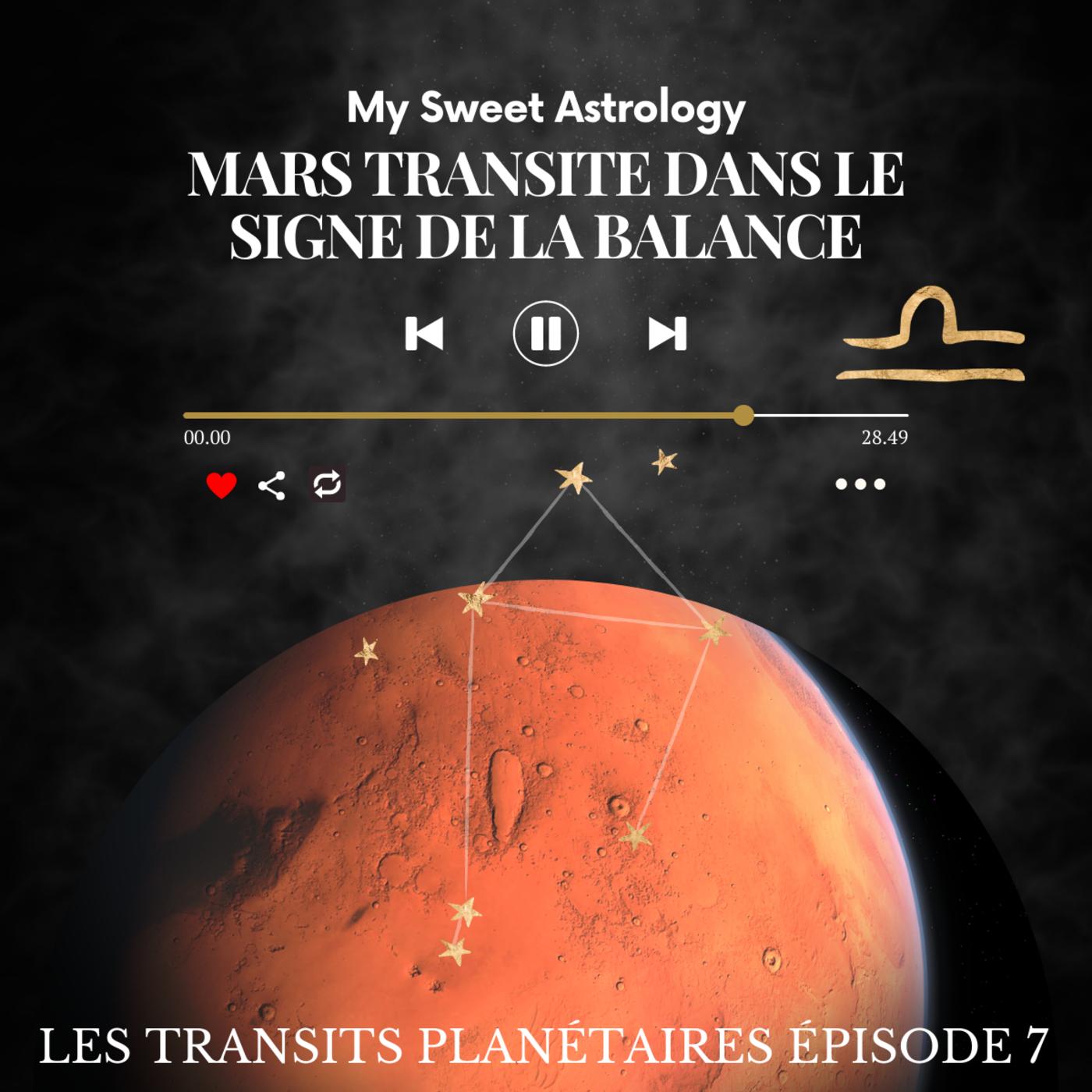 Mars transite en Balance