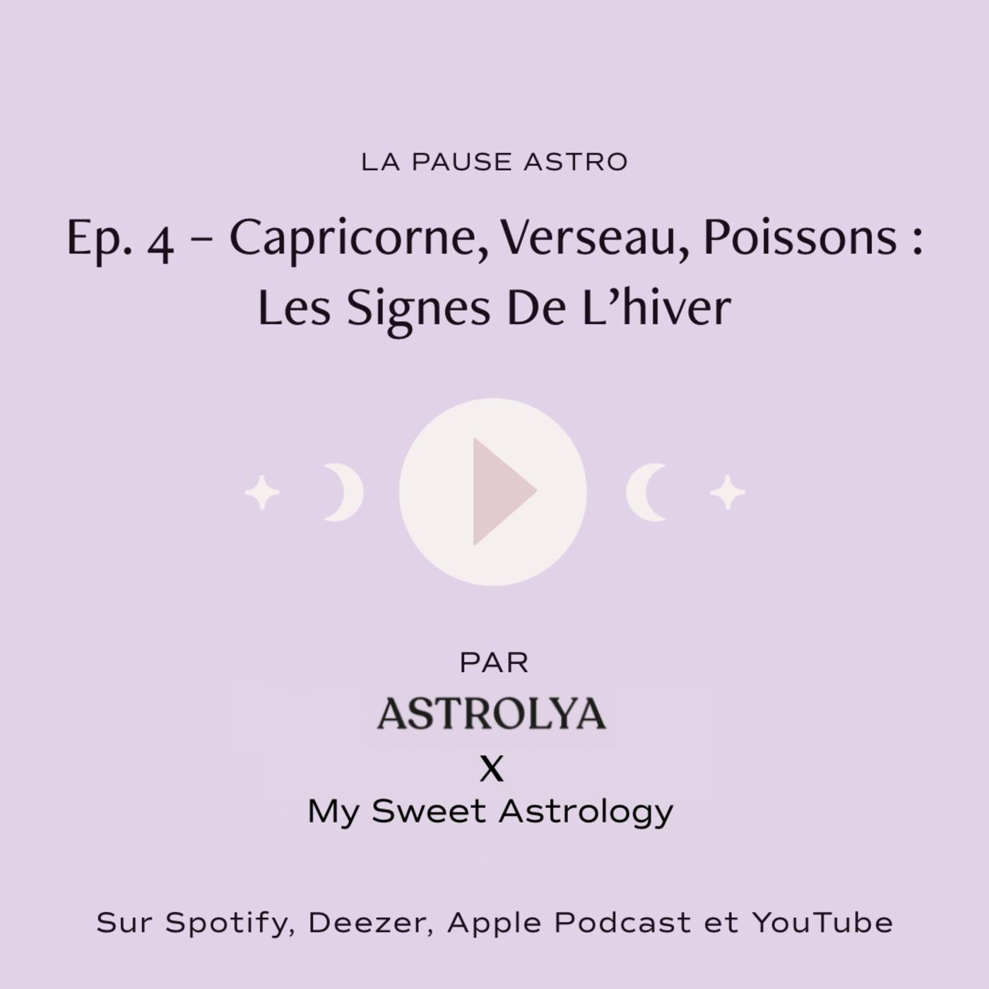 #LPA : Capricorne, Verseau, Poissons