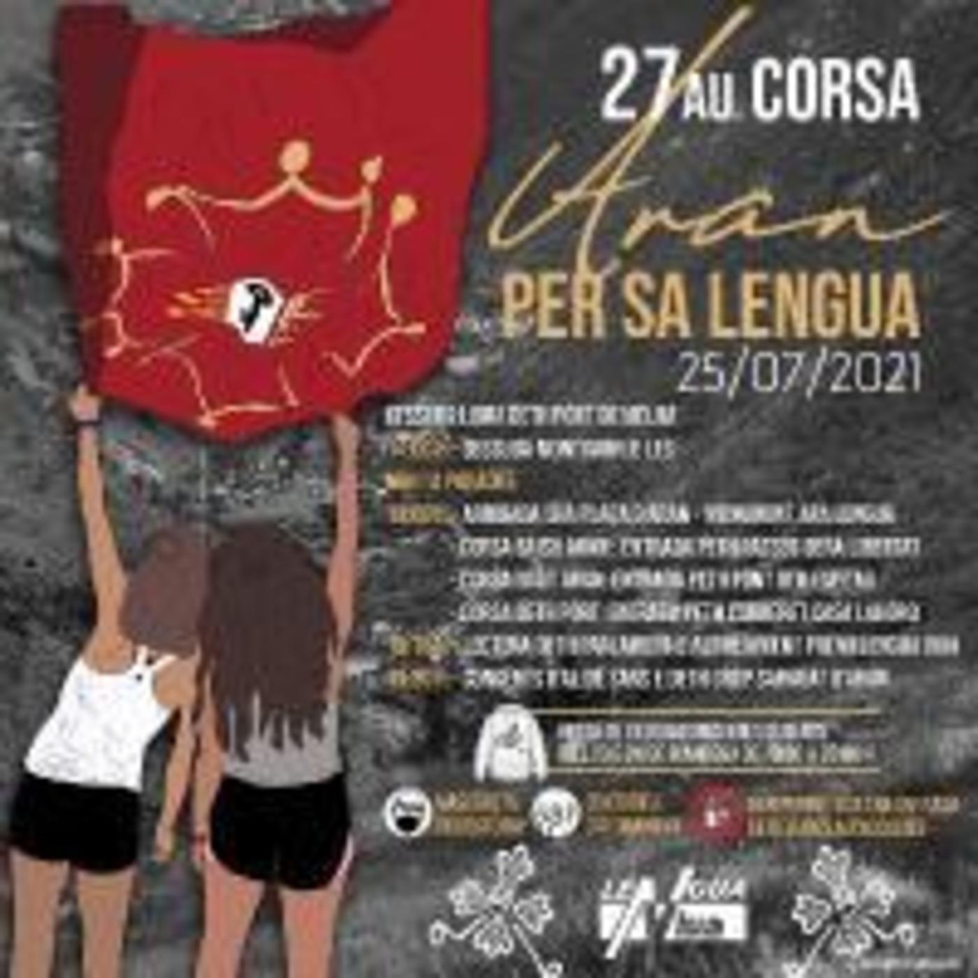Entrevista Rosa Maria Salgueiro sul repòrt de la corsa Aran per sa Lengua (OC)