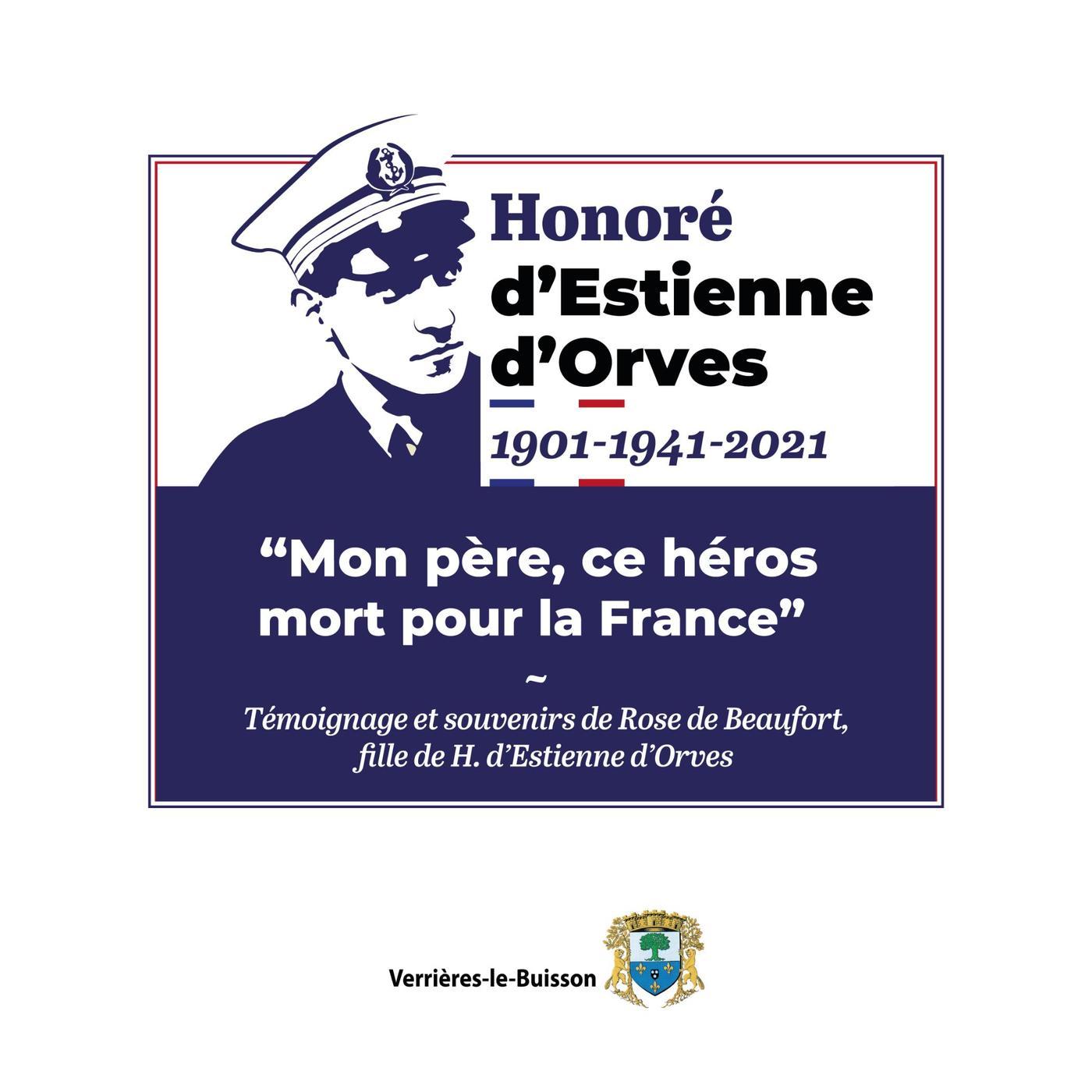 """Honoré d'Estienne d'Orves : """"mon père, ce héros mort pour la France"""""""