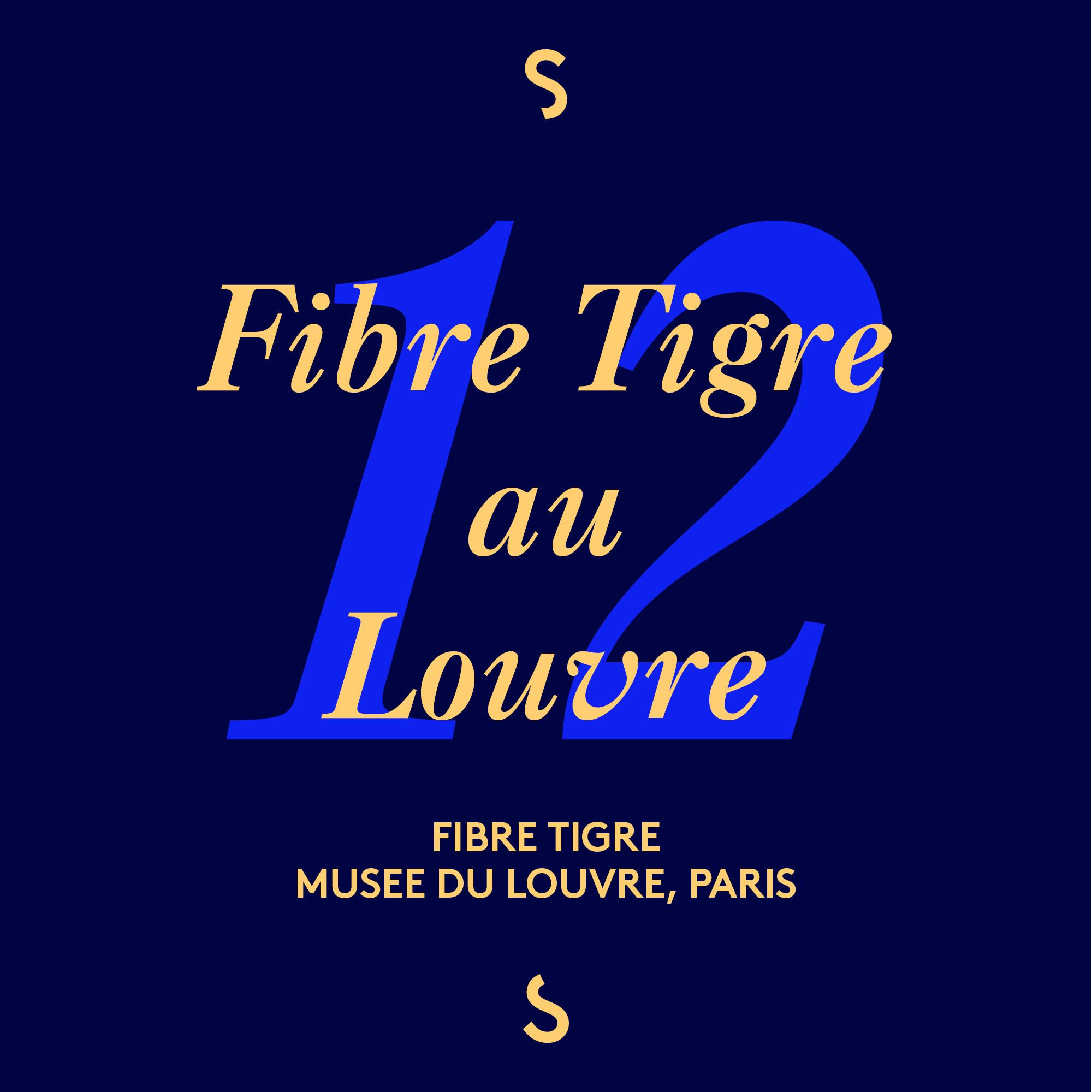 Fibre Tigre au Louvre