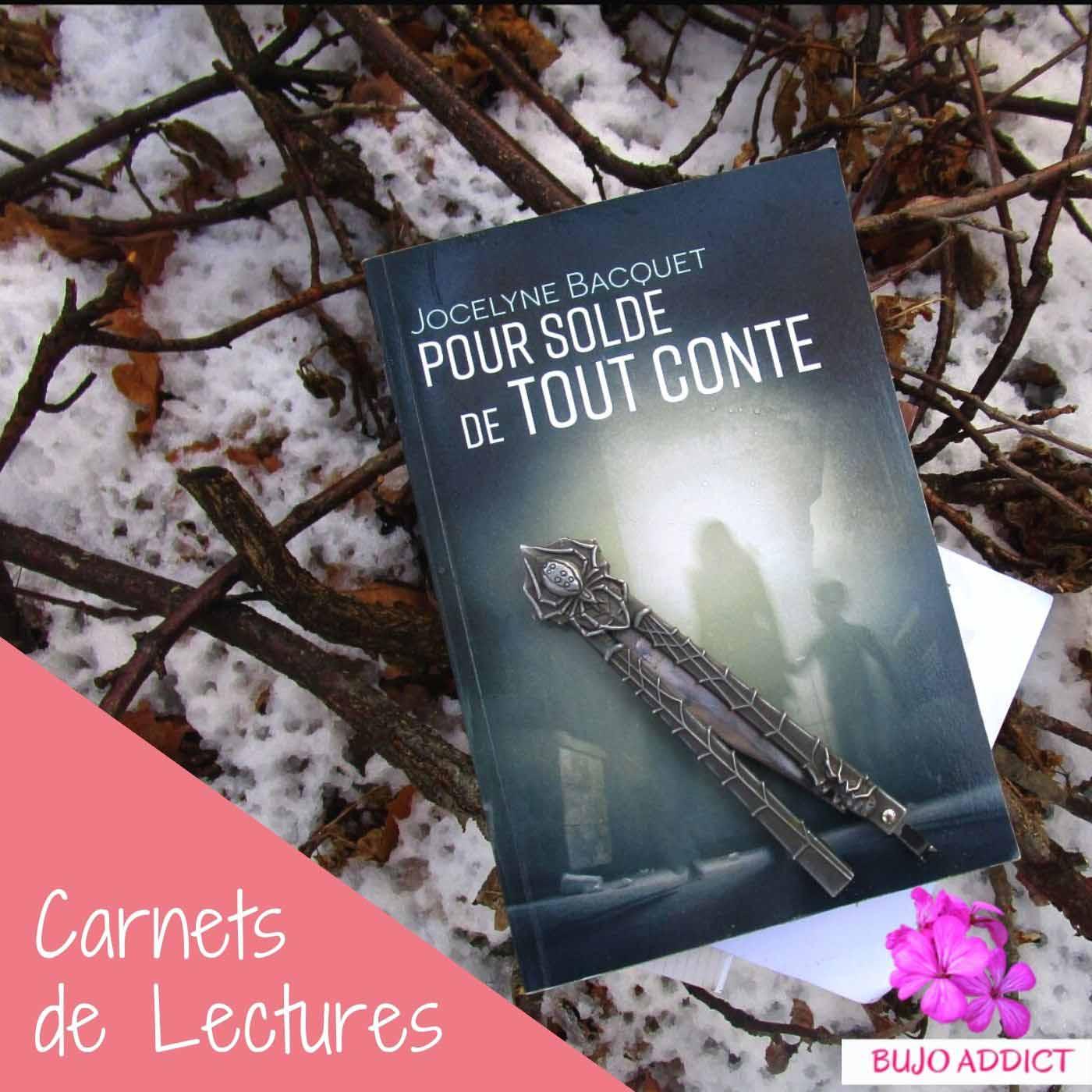 Pour Solde de tout Conte - Jocelyne Bacquet