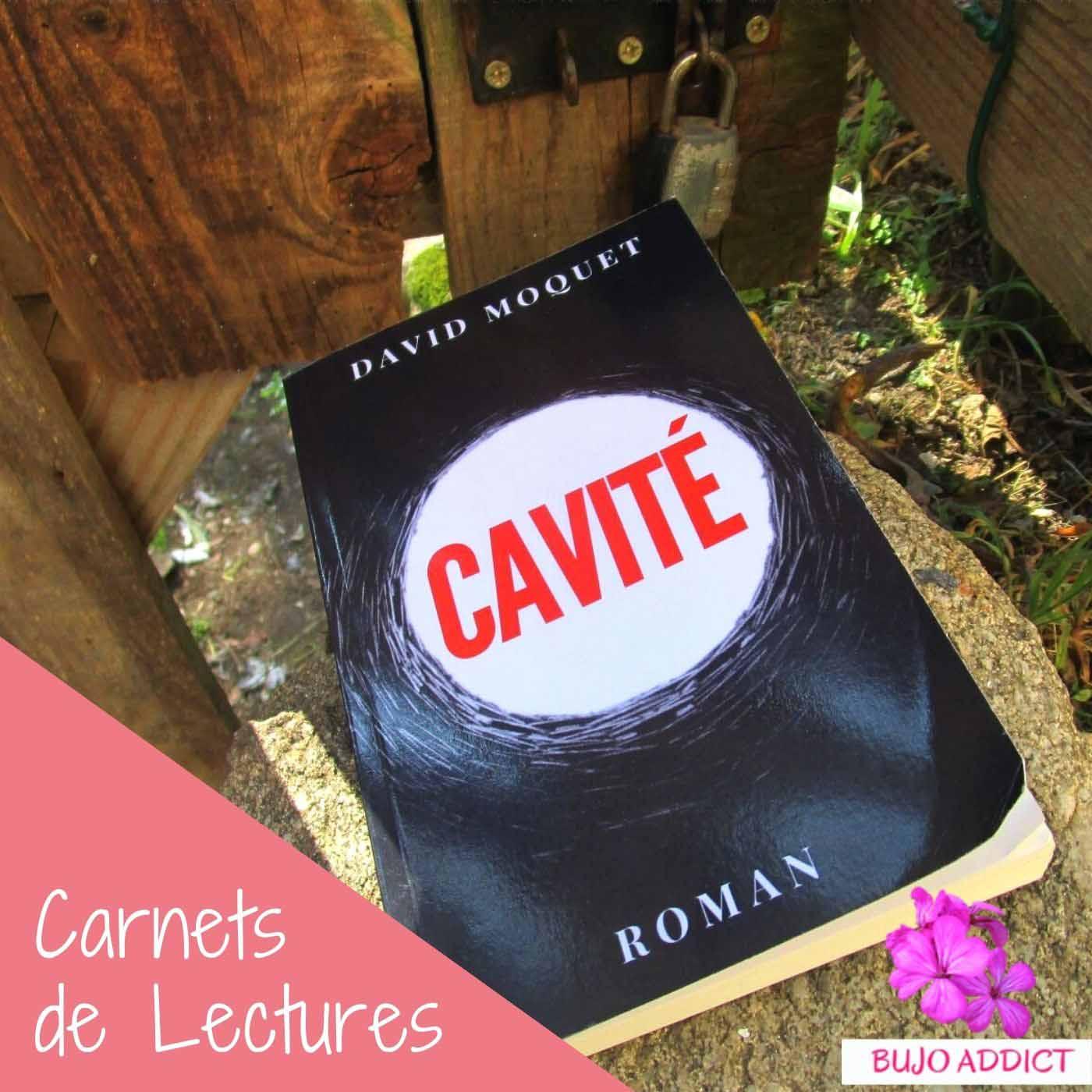 Premier roman de David Moquet : Cavité