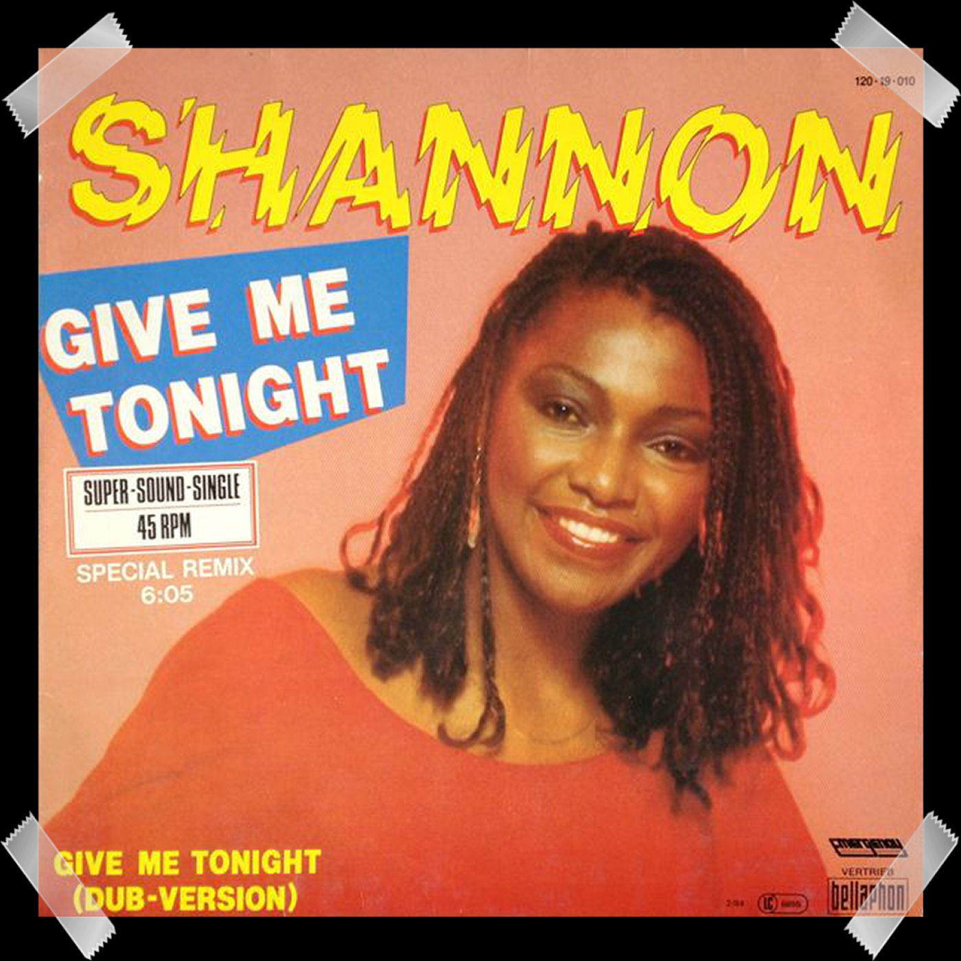 28. Shannon - Give Me Tonight