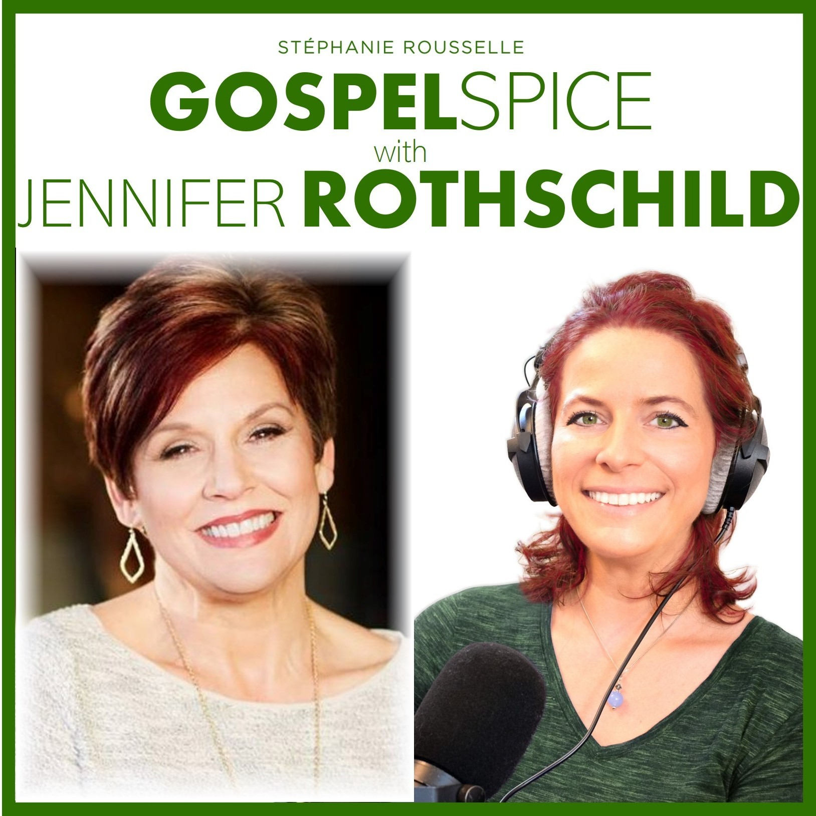 """Take courage! For I am with you"", says the Lord -- with Jennifer Rothschild"