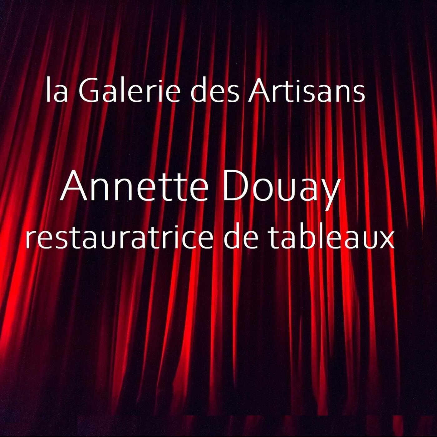Annette Douay, restauratrice de tableaux