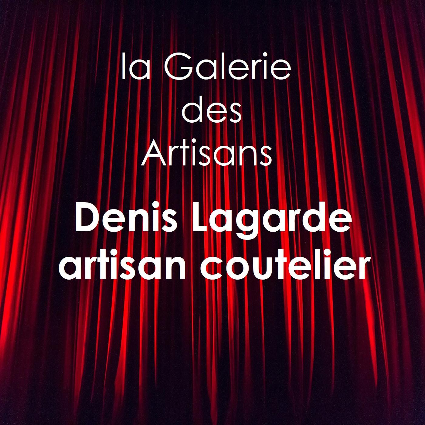 Denis Lagarde, artisan coutelier à Vauréal