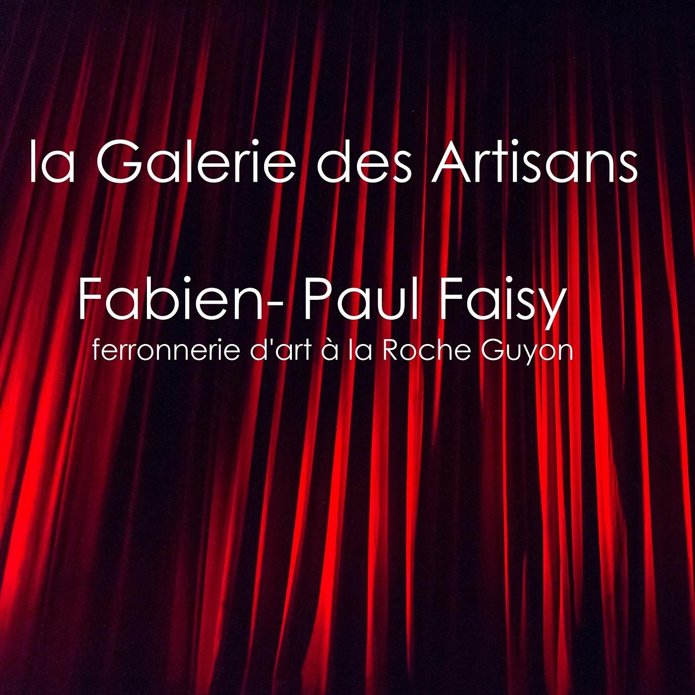 Fabien Paul Faisy,  ferronnerie d'art