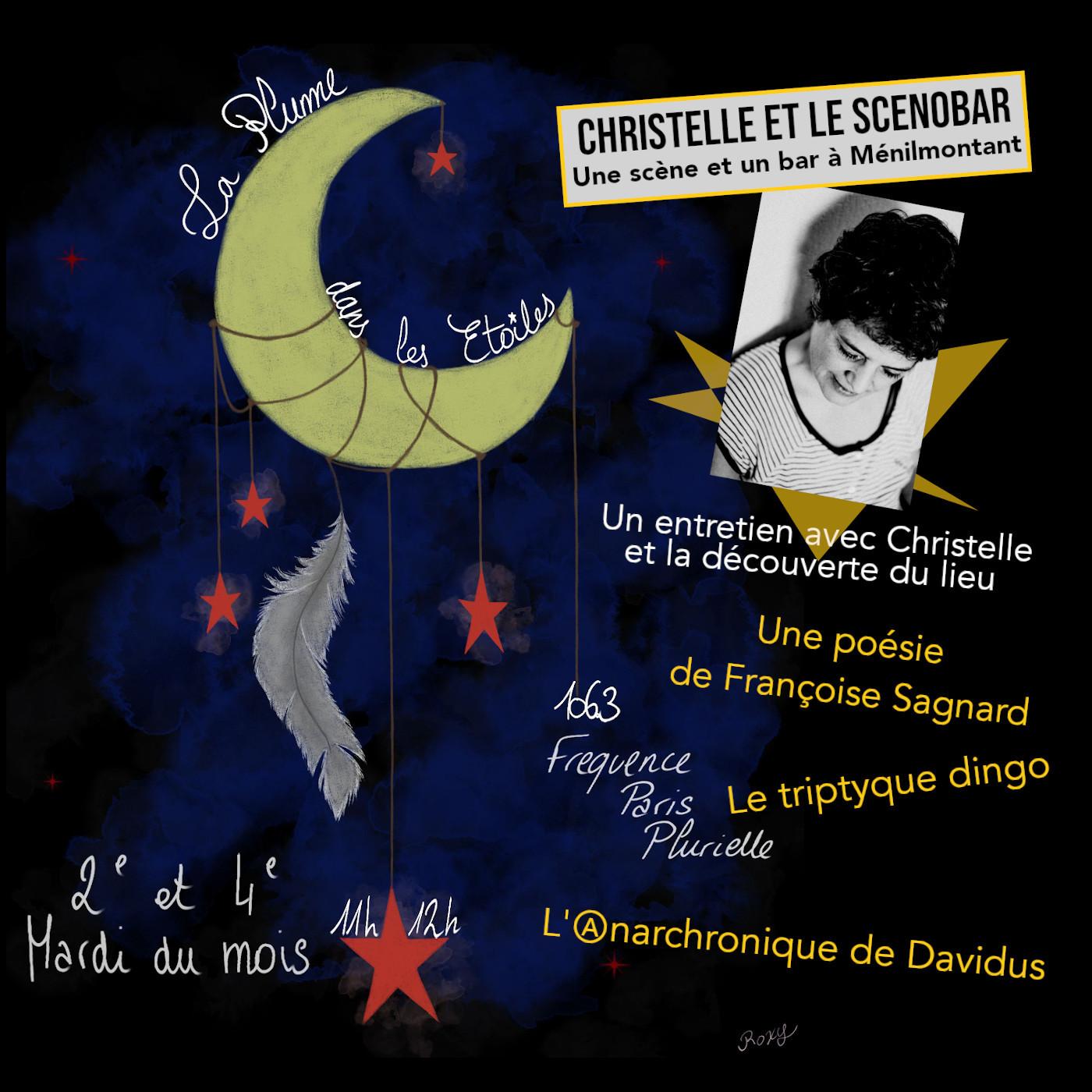 La Plume dans les Étoiles # 14 // Pastille et entretien : Christelle Meyer et le Scenobar