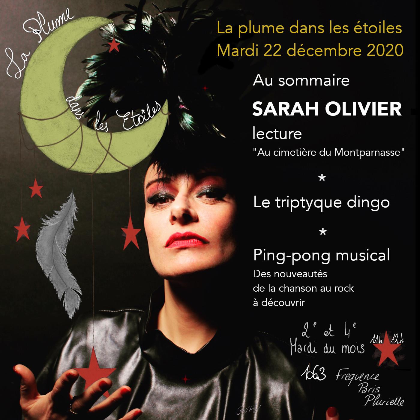 La Plume dans les Étoiles # 20 // Lecture - Sarah Olivier + Ping pong musical
