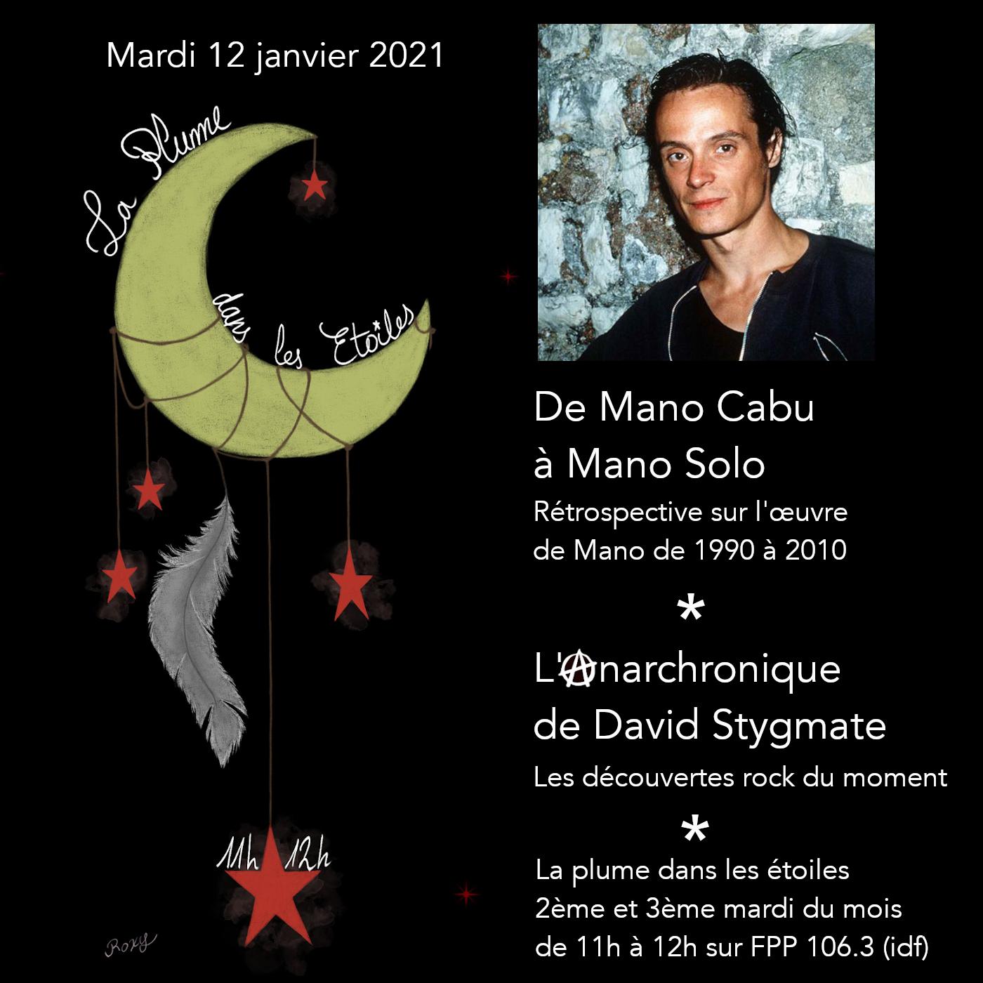 La Plume dans les Étoiles # 21 // De Mano Cabu à Mano Solo