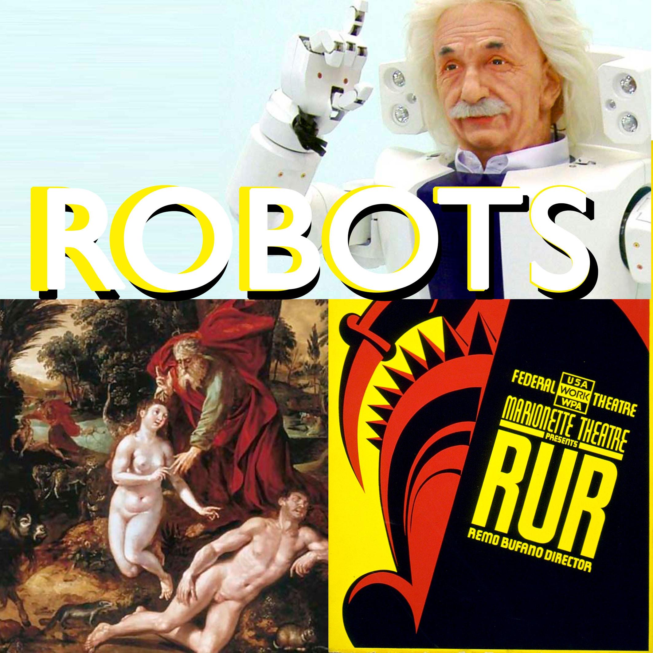 Robots, une histoire de l'antiquité à nos jours