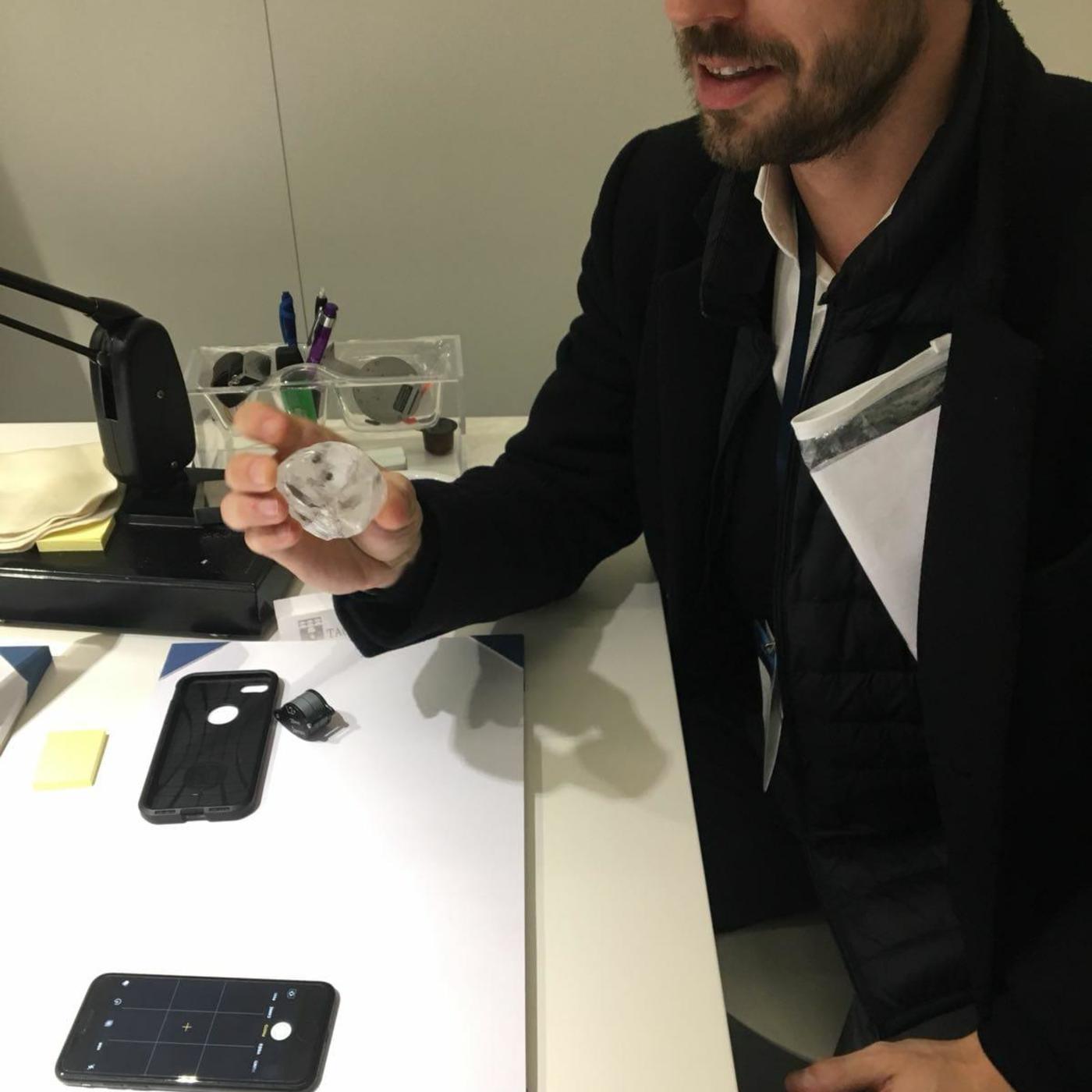 #17 Stanislas Mellerio, expert diamant pour la maison Louis Vuitton