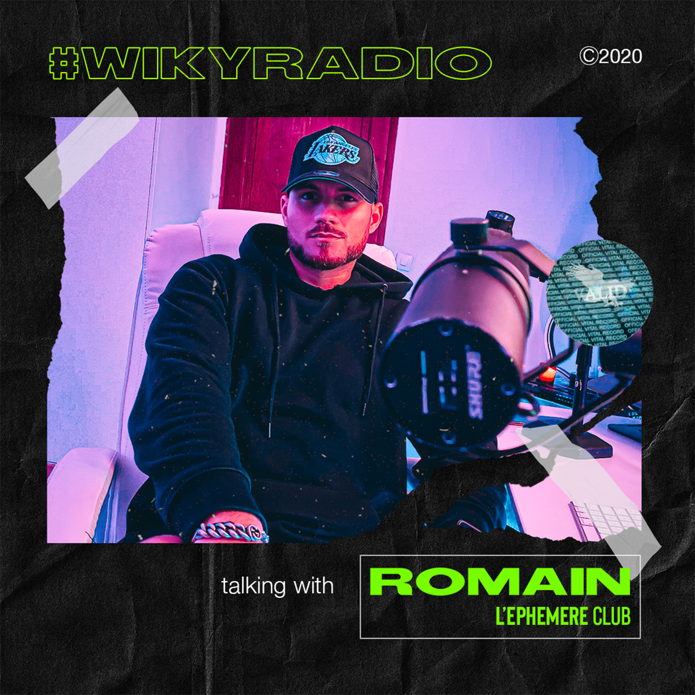 WIKY RADIO - TALKING WITH ROMAIN (L'EPHEMERE CLUB)